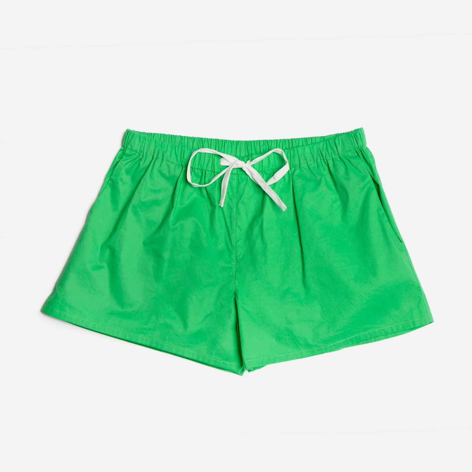 Teddy Pajama Short Green