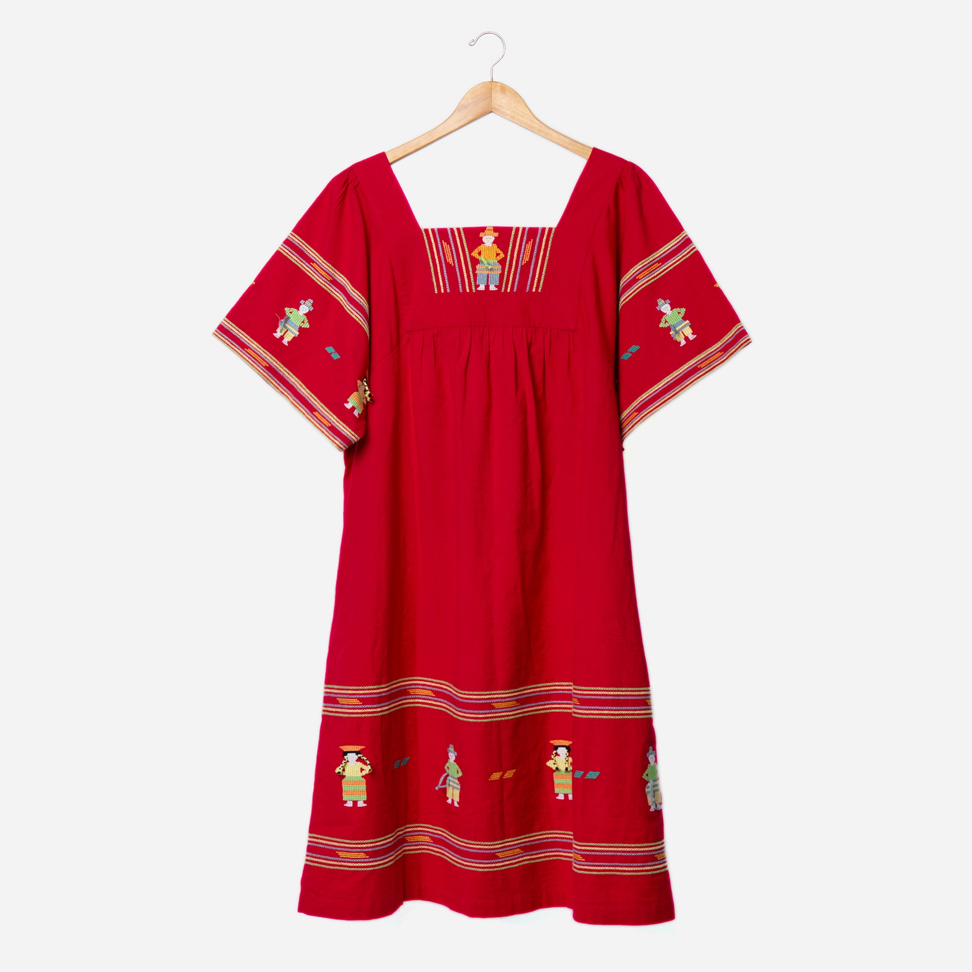 Picnic Dress Red