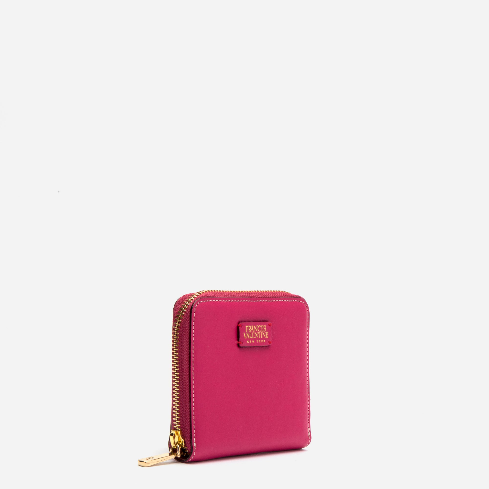 Roosevelt Small Zip Wallet Pink Red