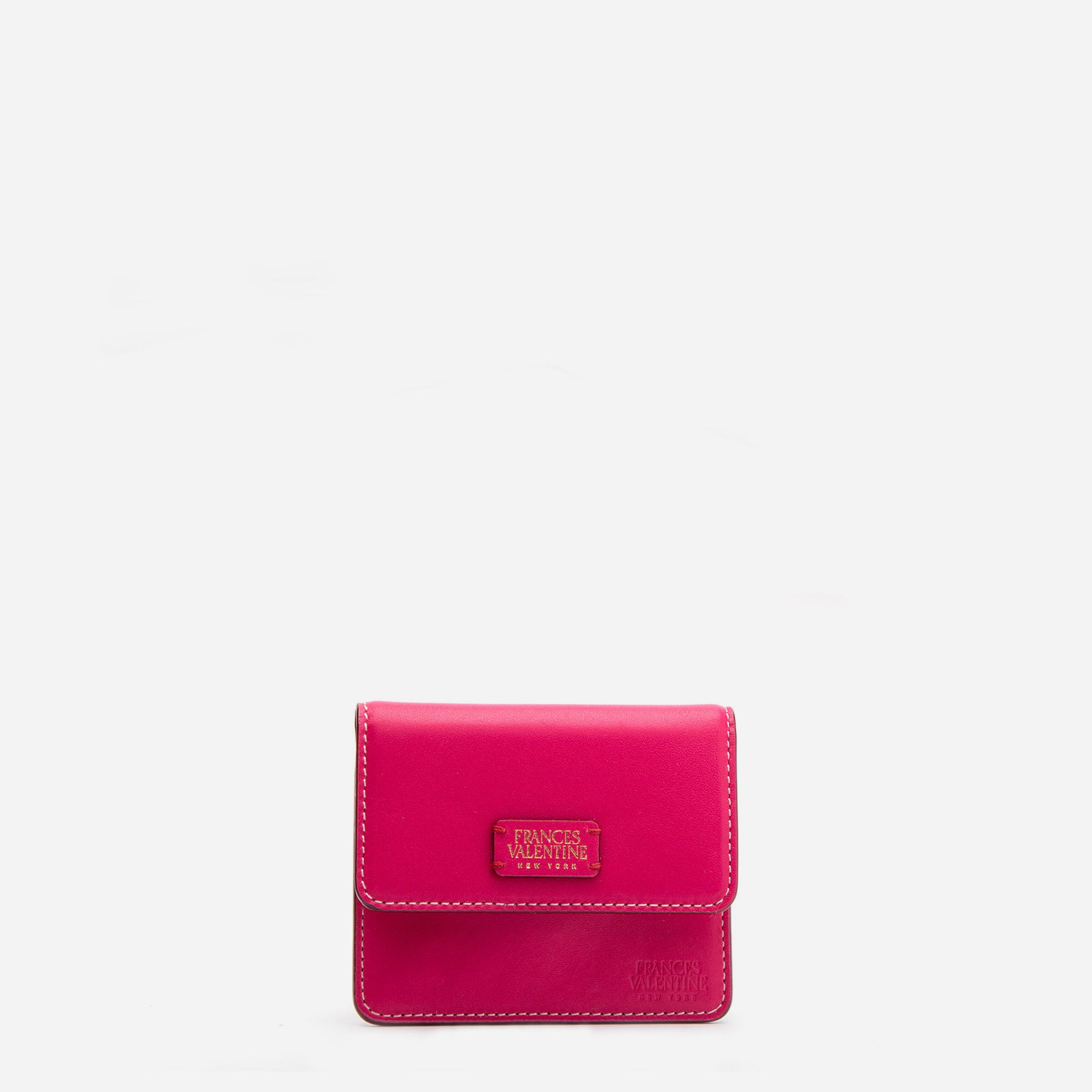 Susan B. Anthony Wallet Pink Red - Frances Valentine