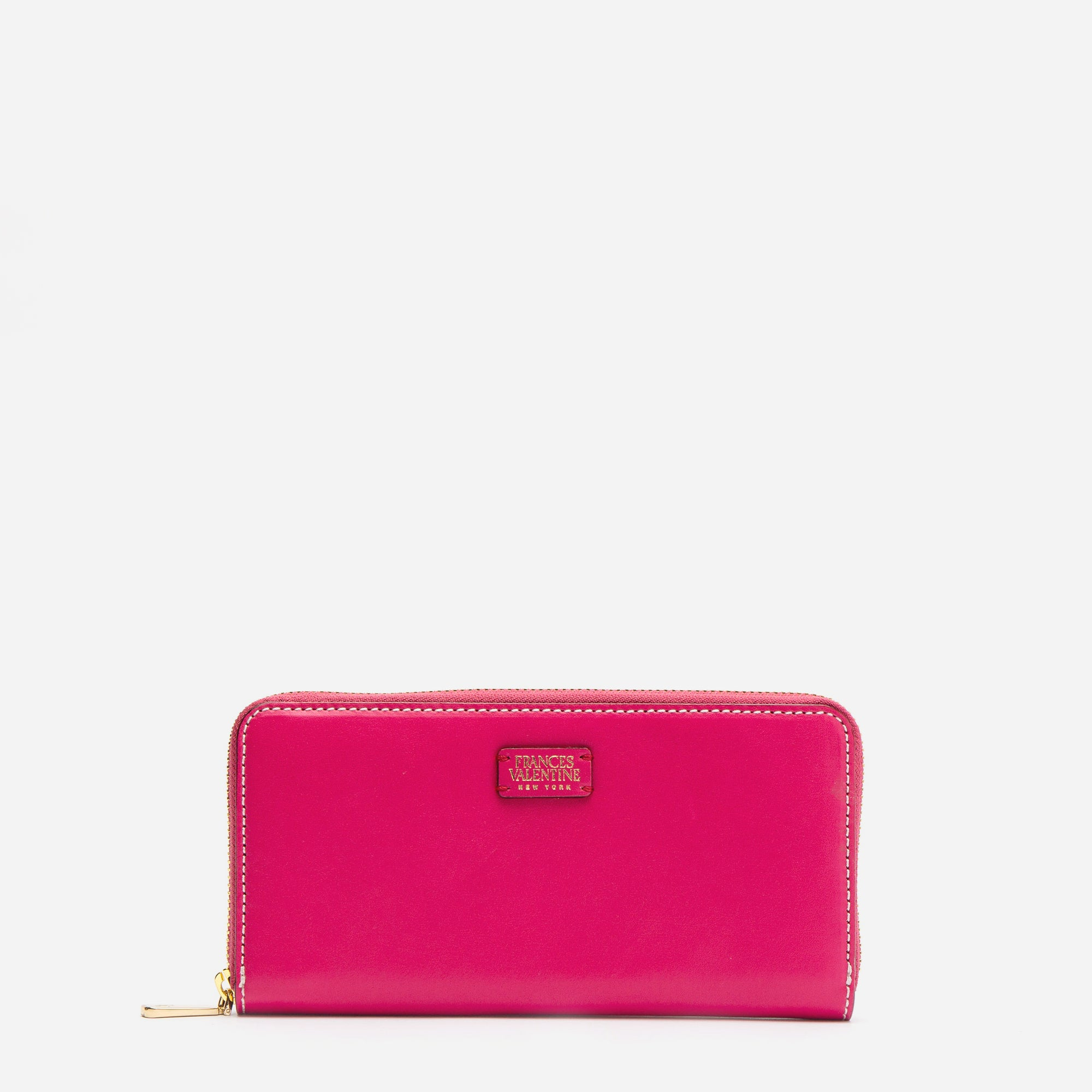 Washington Zip Wallet Pink Red