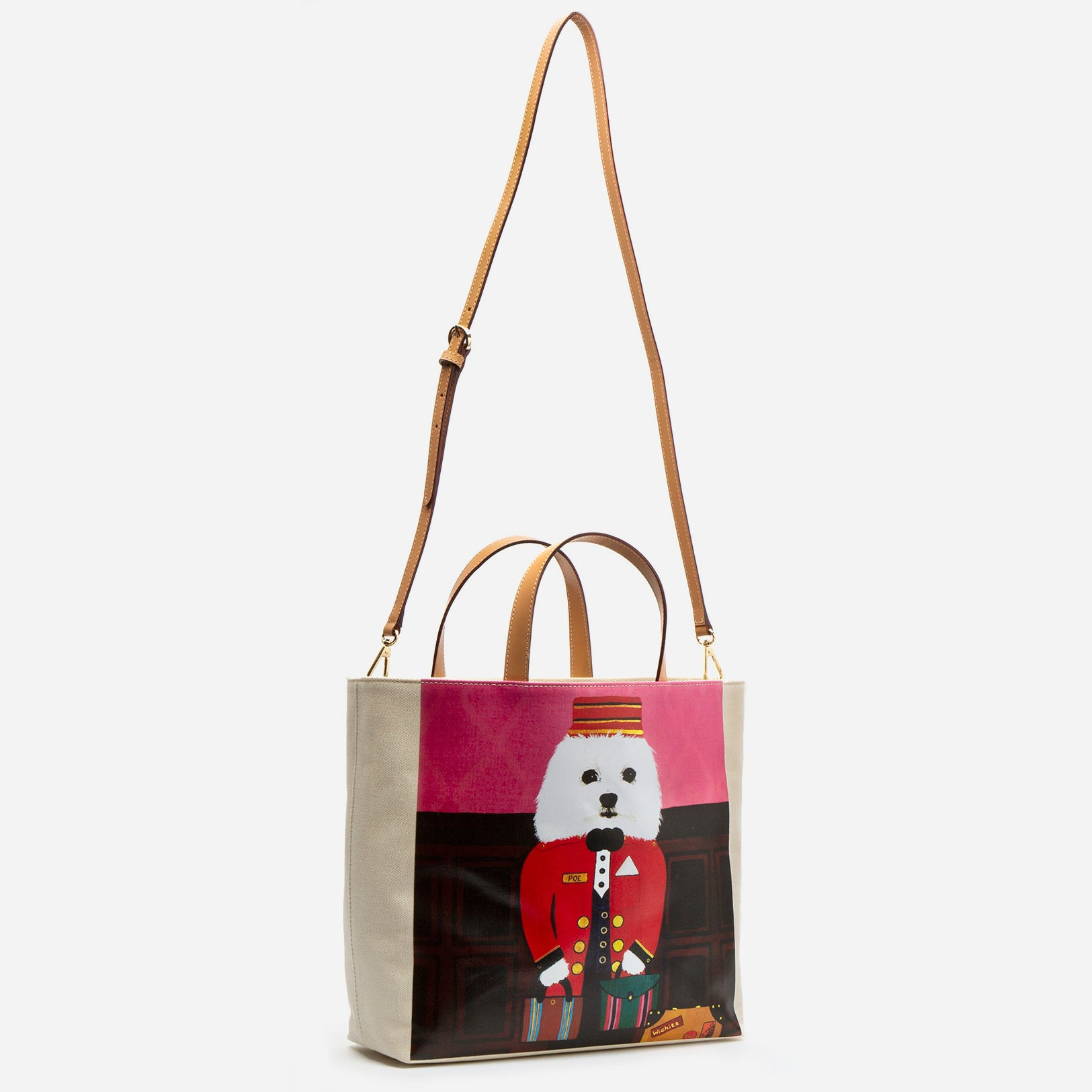 Large Margaret Canvas Poe Tote