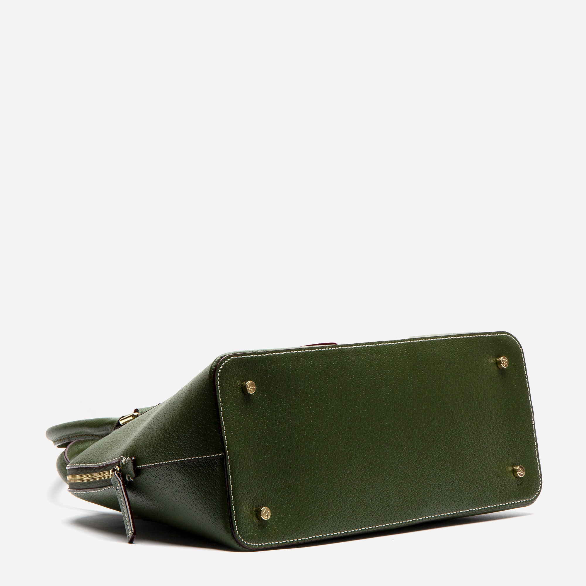 Rachel Satchel Racing Stripe Olive