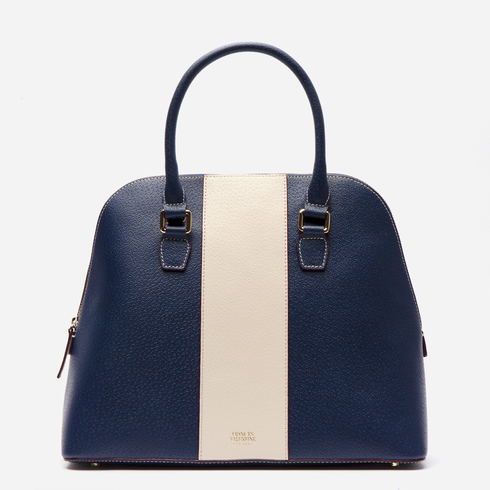 Rachel Satchel Racing Stripe Royal