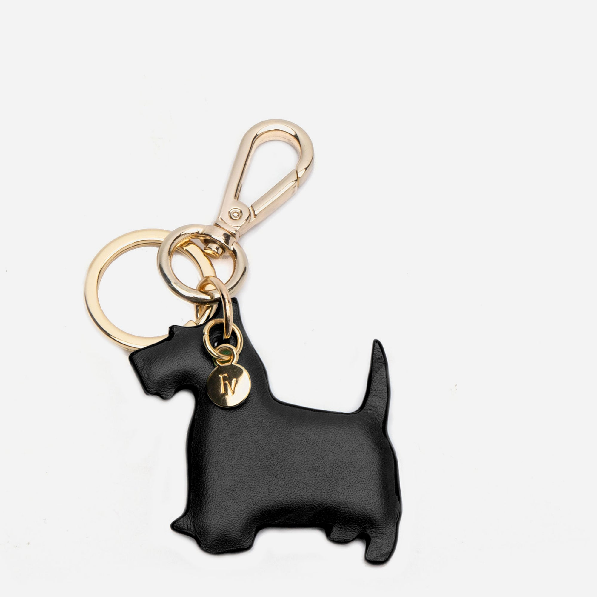 Scottish Terrier Keychain Black