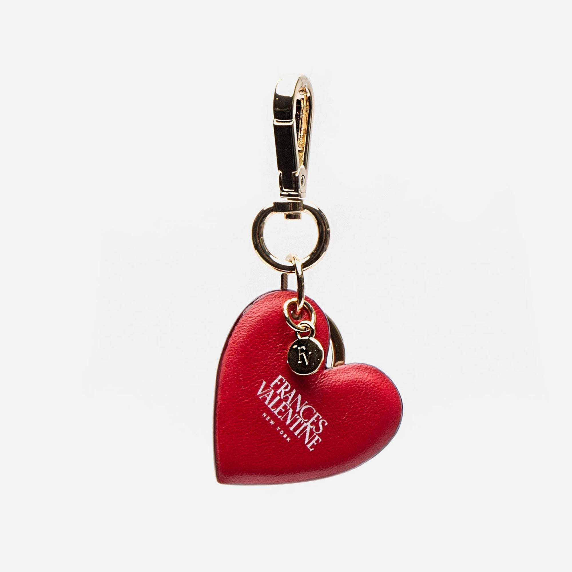 Heart Keychain Red