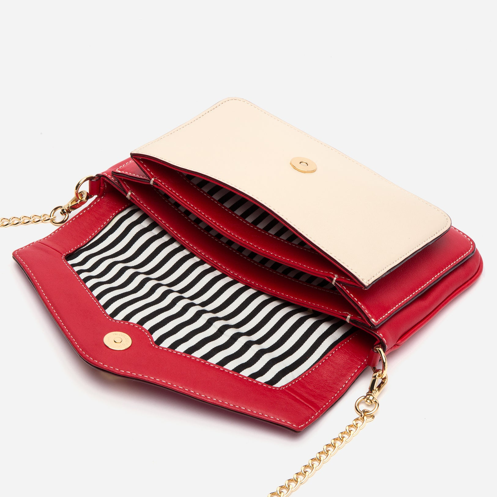Tess Envelope Clutch Red Multi