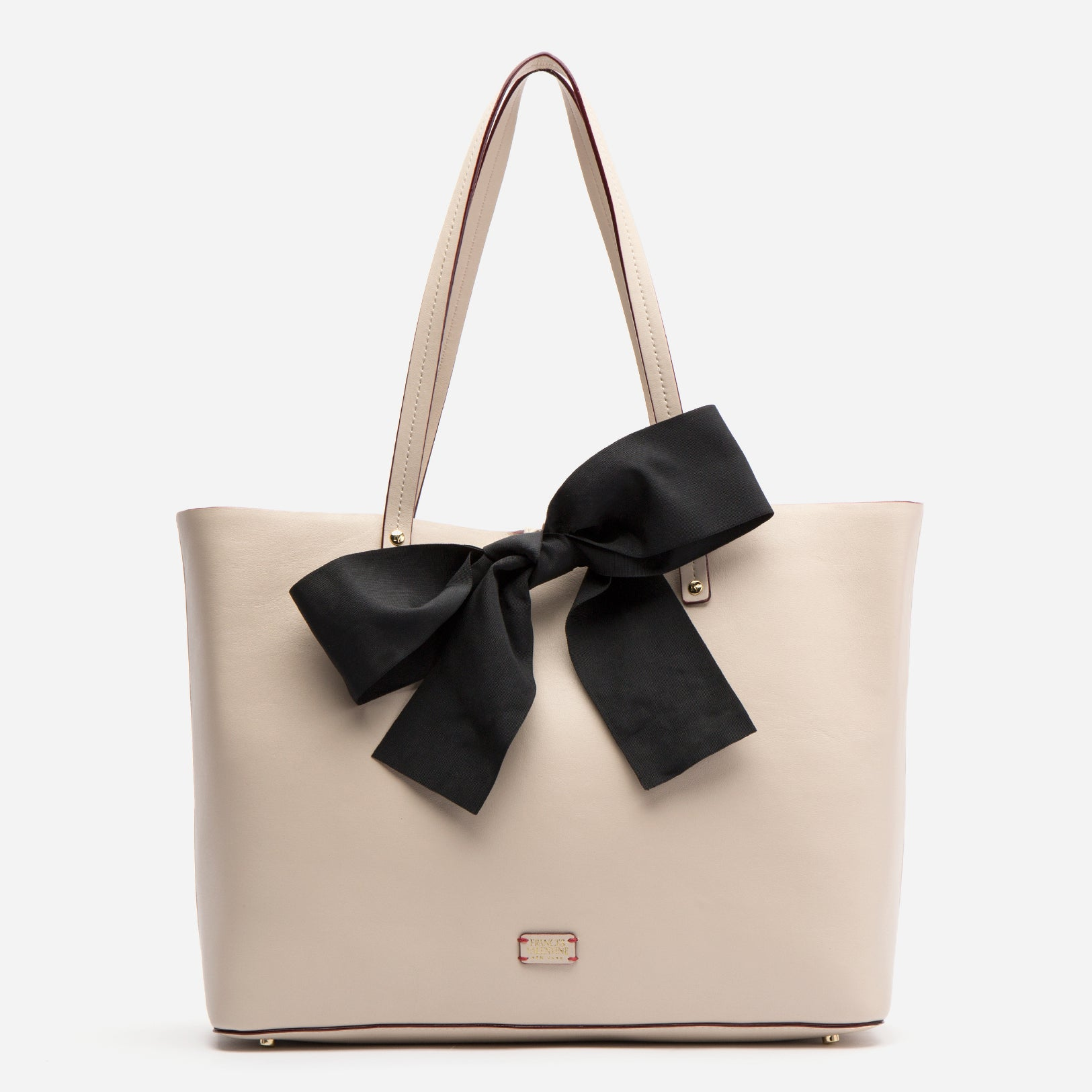 Trixie Bow Tote Oyster Black
