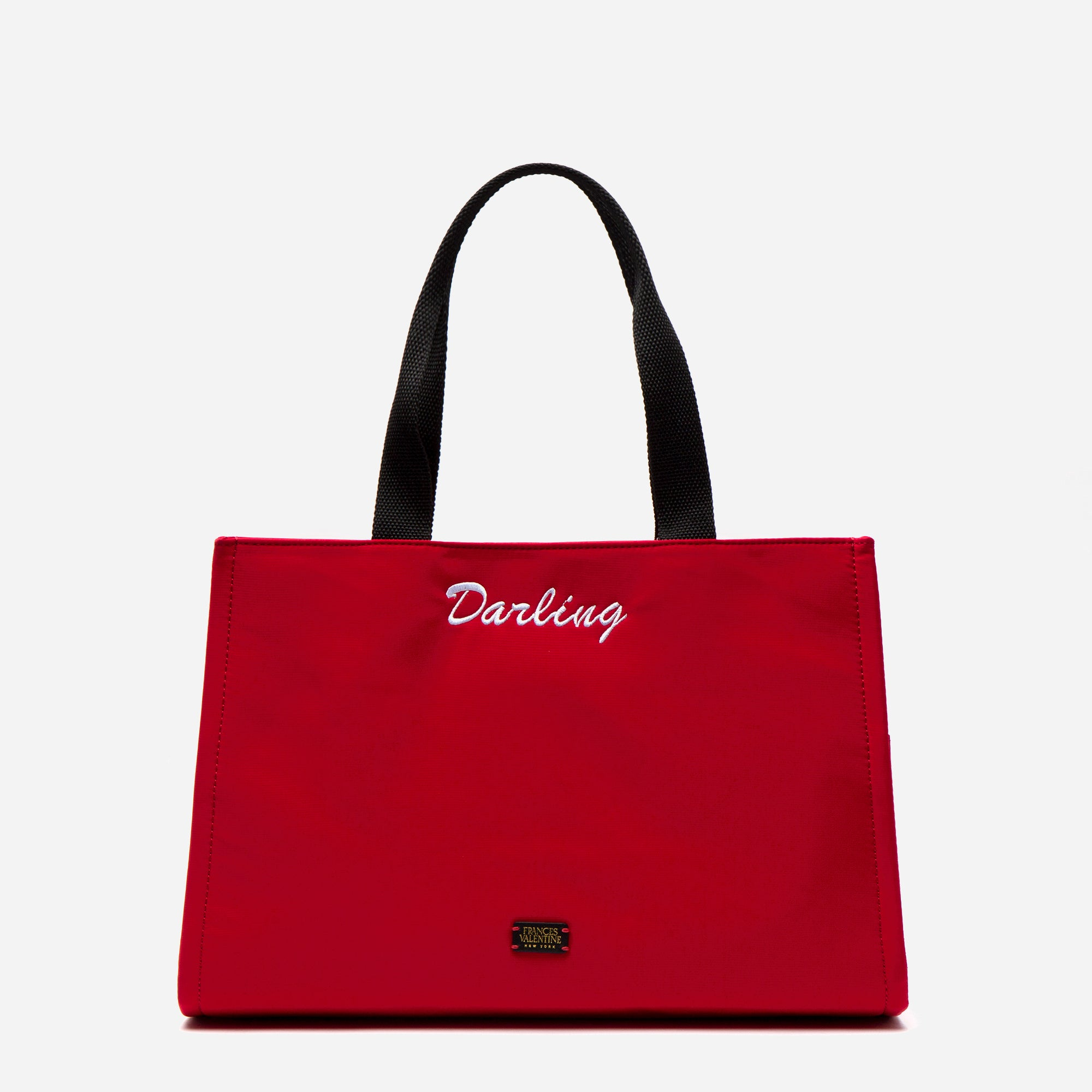 Limited Edition Embroidered Kate Shoulder Tote Darling