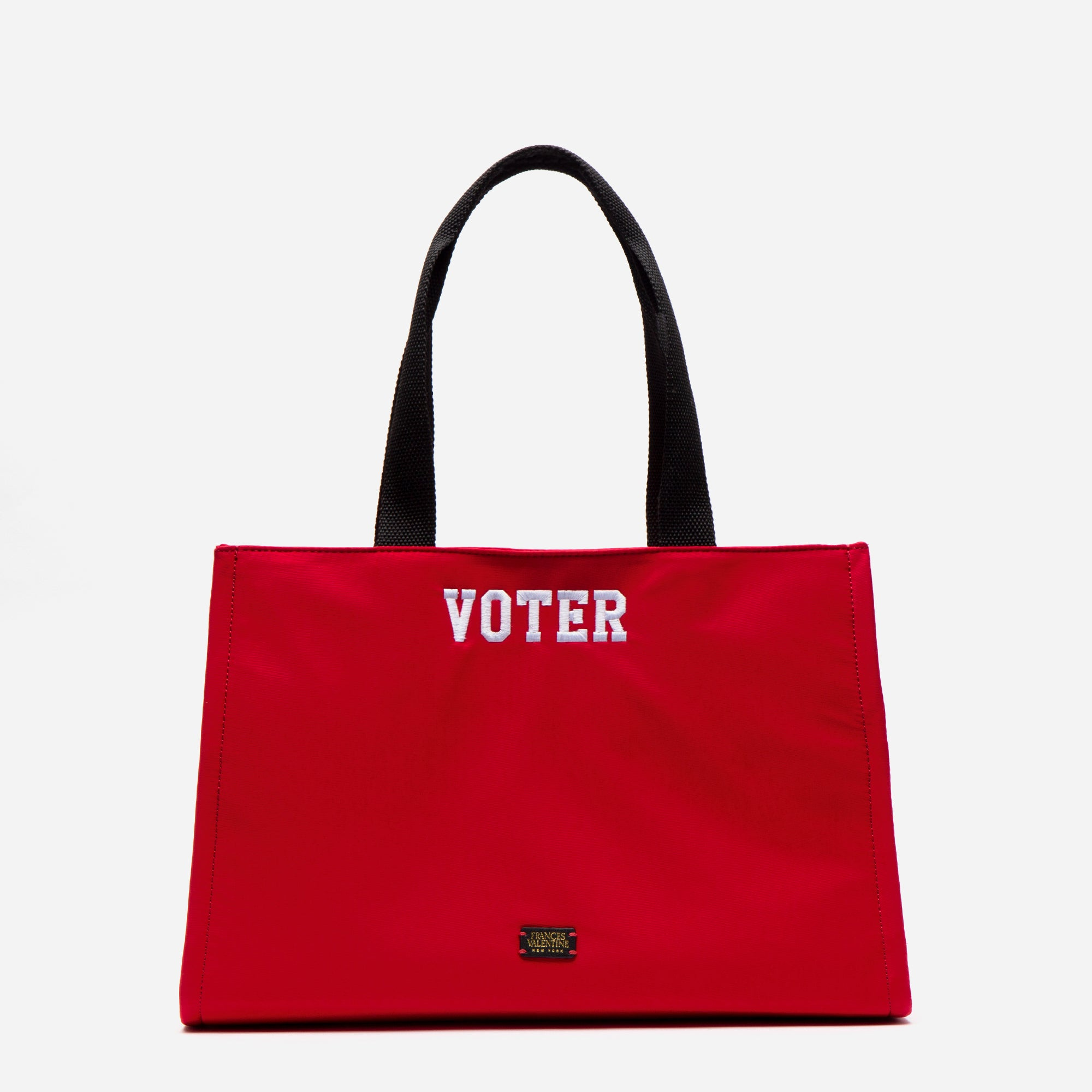 Limited Edition Embroidered Kate Shoulder Tote Voter