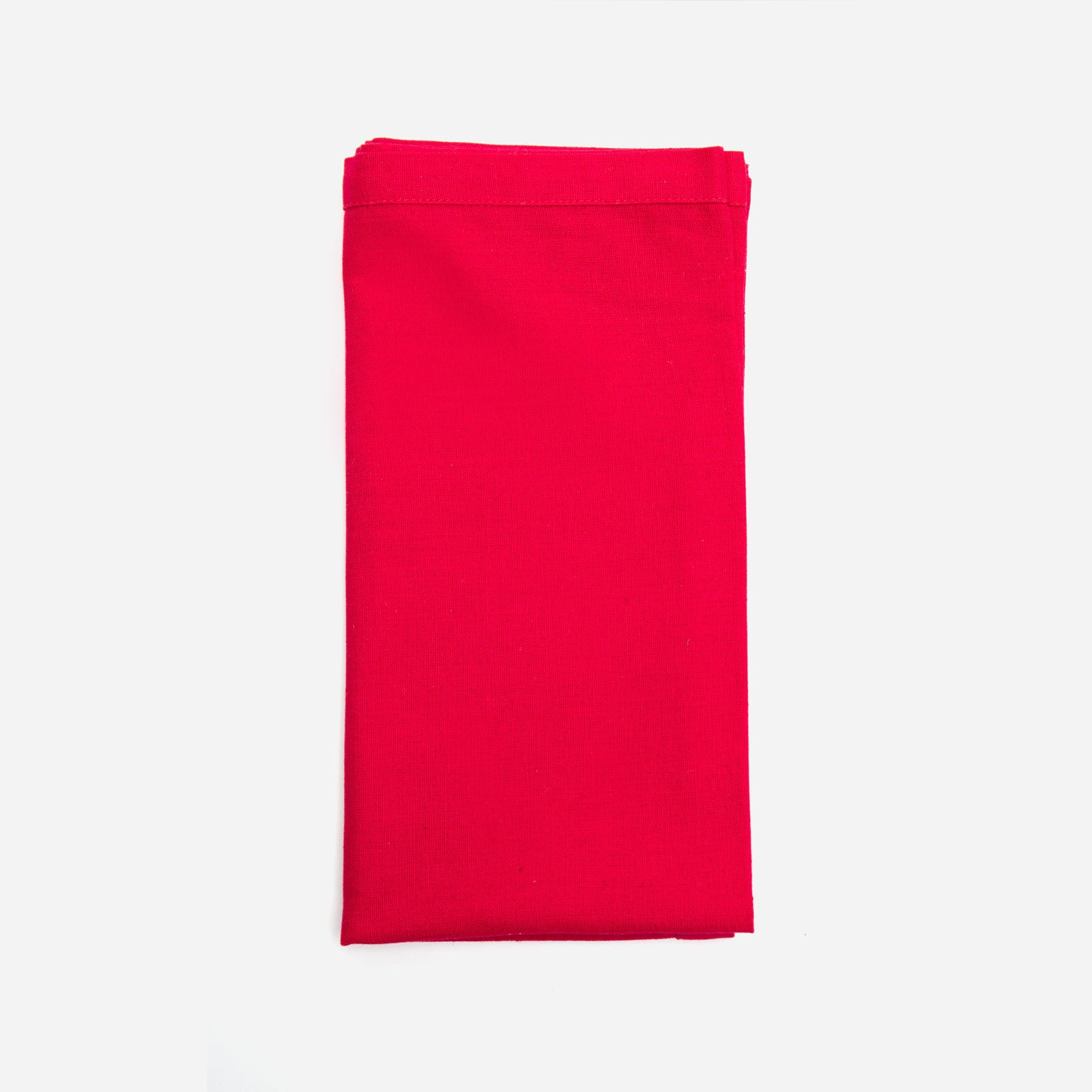 Dinner Napkin Set Red