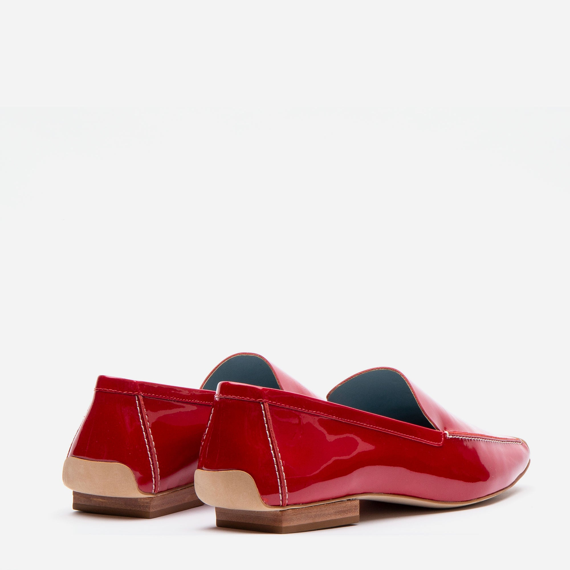Elyce Loafers Soft Patent Red