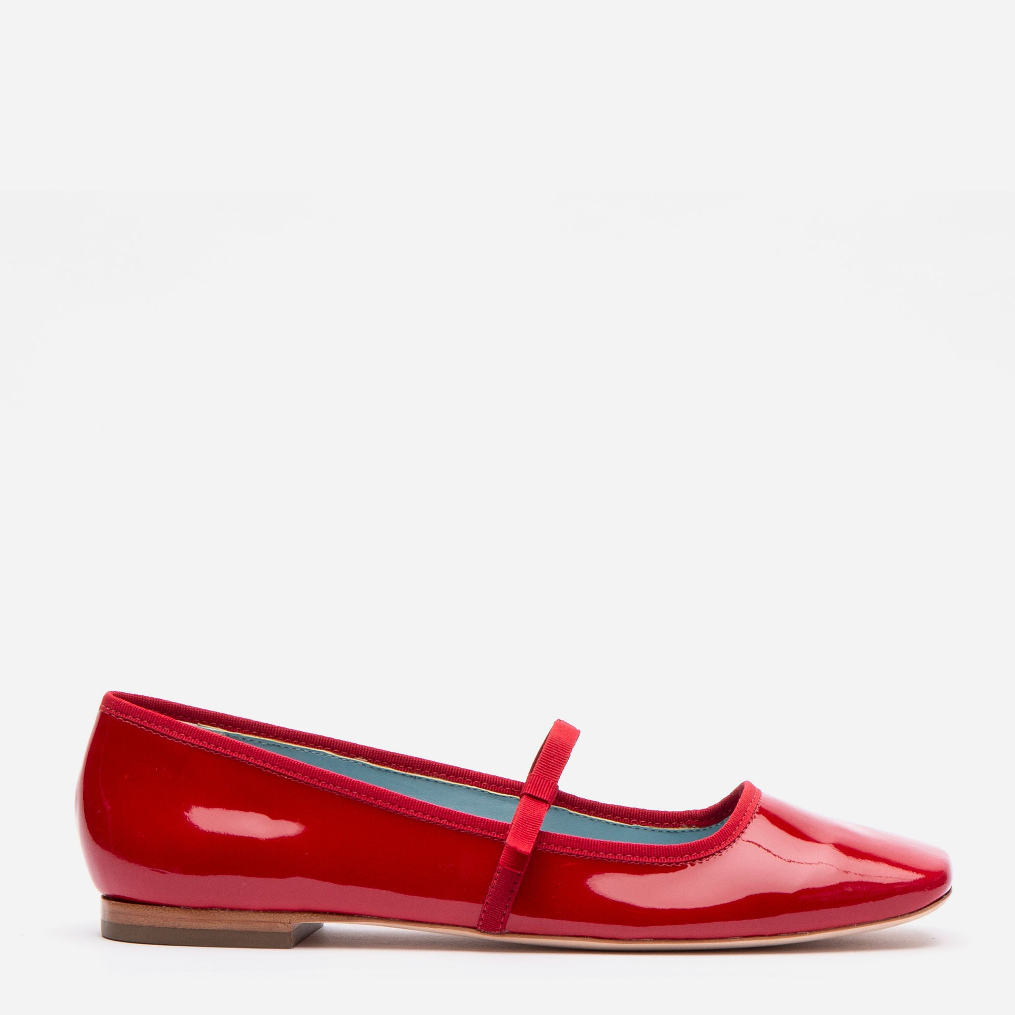 Jude Mary Jane Flats Red Patent