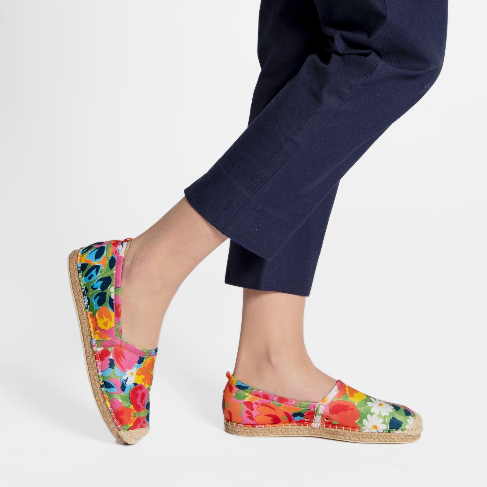 Sea Star Beach Comber Espadrille Bright Floral