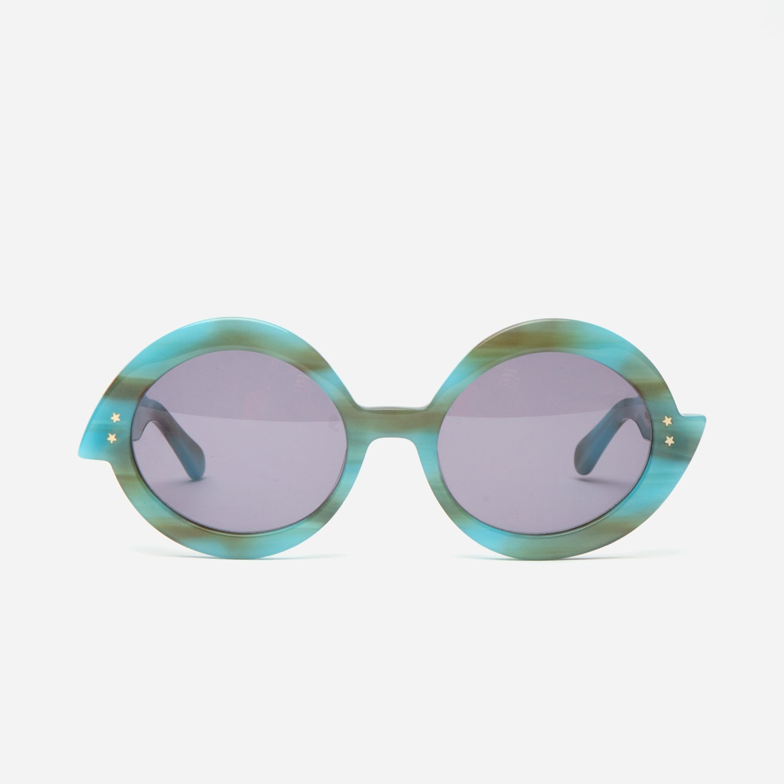 Michelle Sunglasses Aqua - Frances Valentine