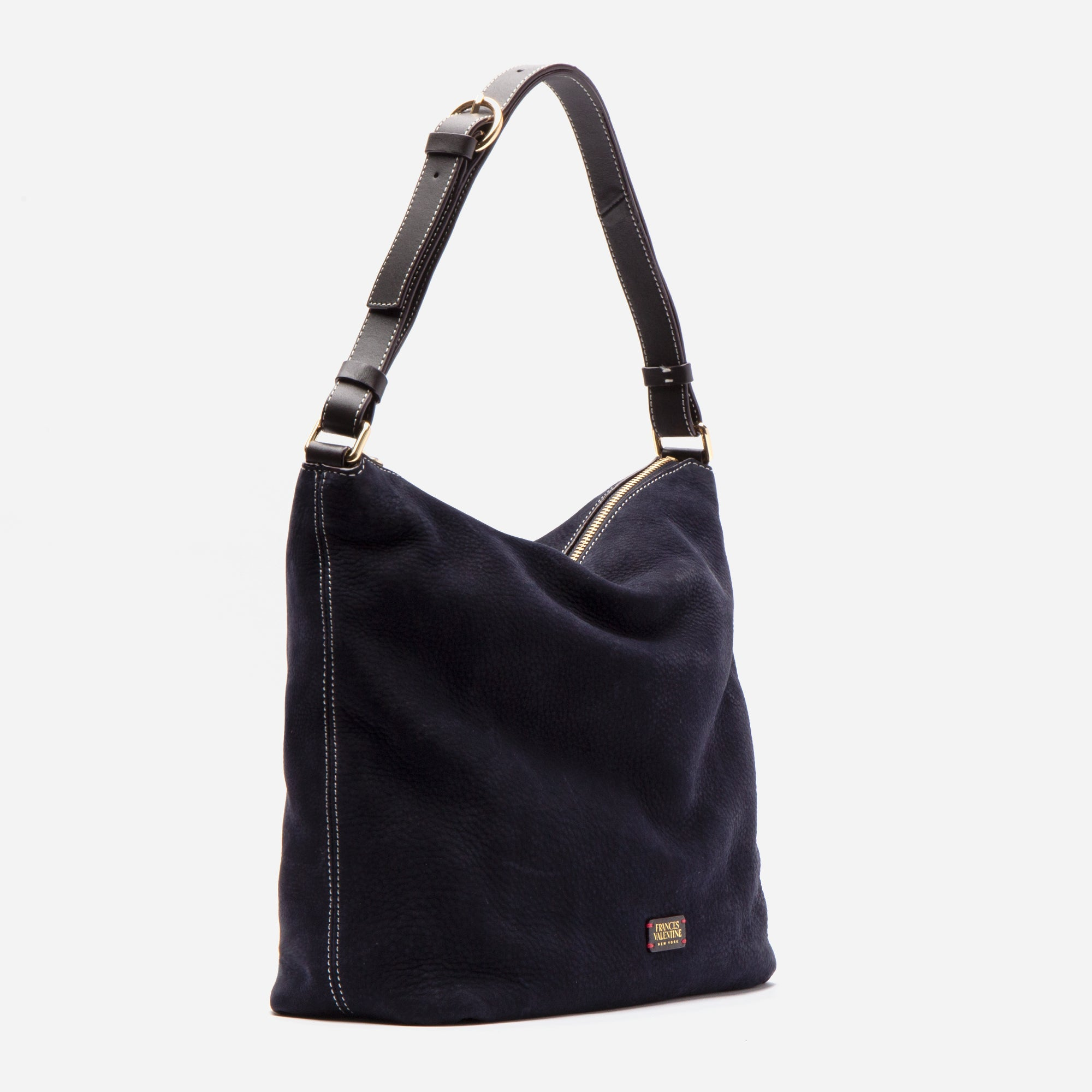 Simi Hobo Tumbled Nubuck Navy