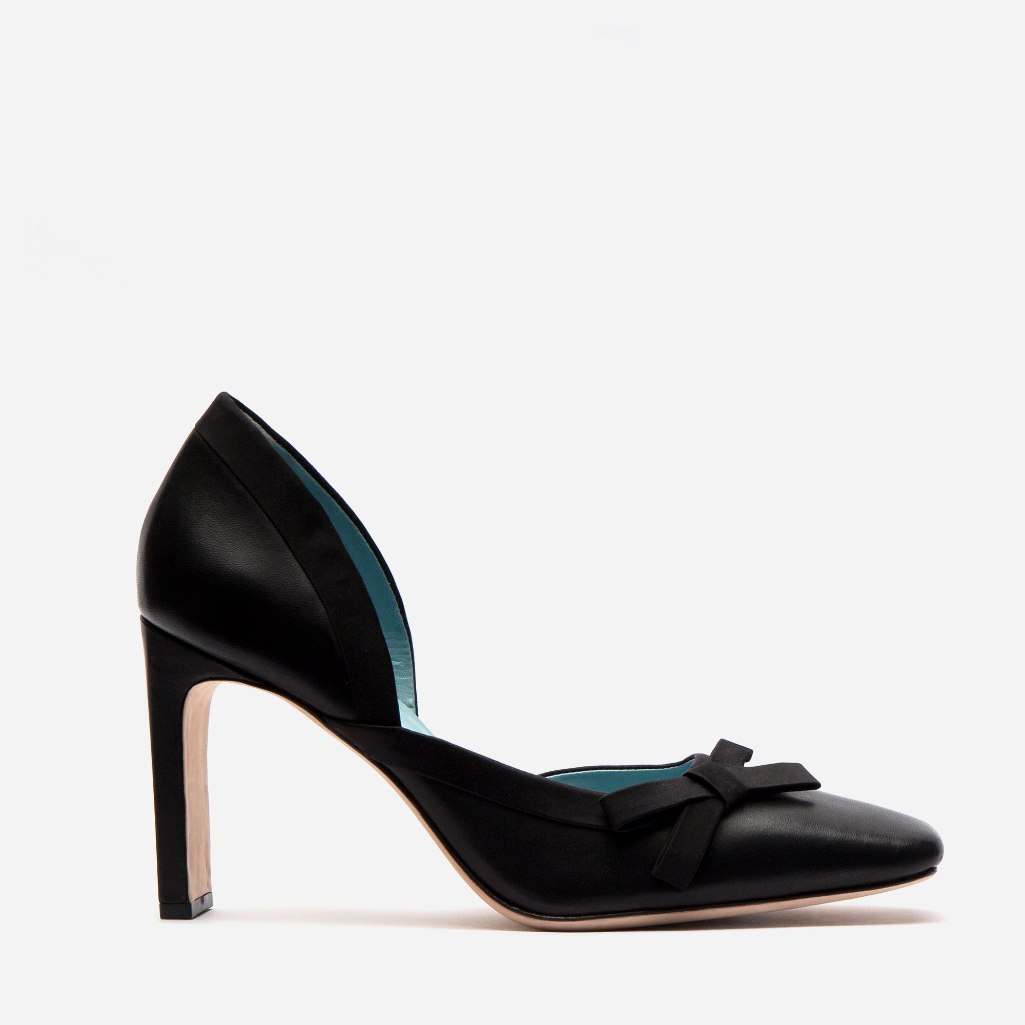 Sinclair Leather Heels Black