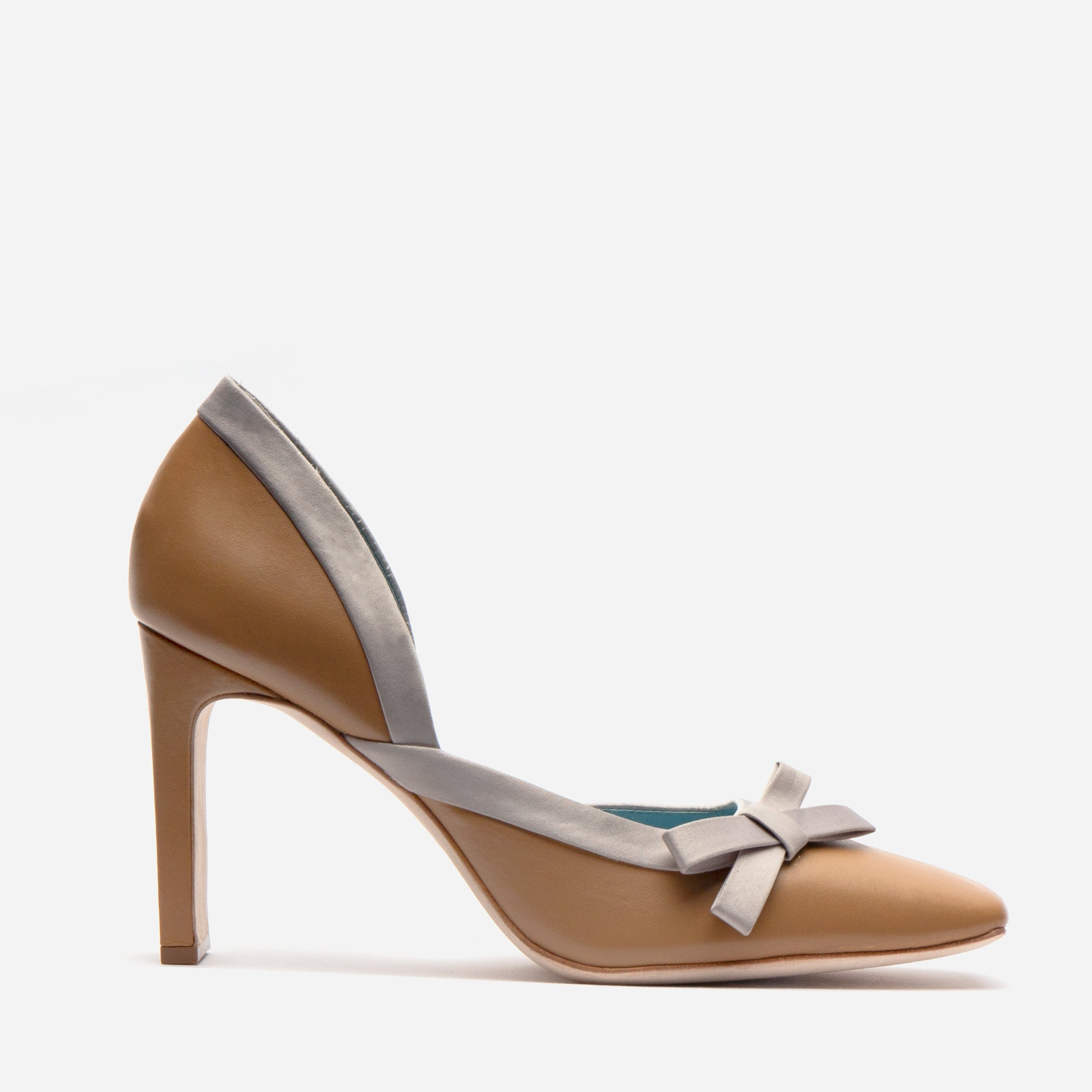 Sinclair Leather Heel Camel Oyster *FINAL SALE*