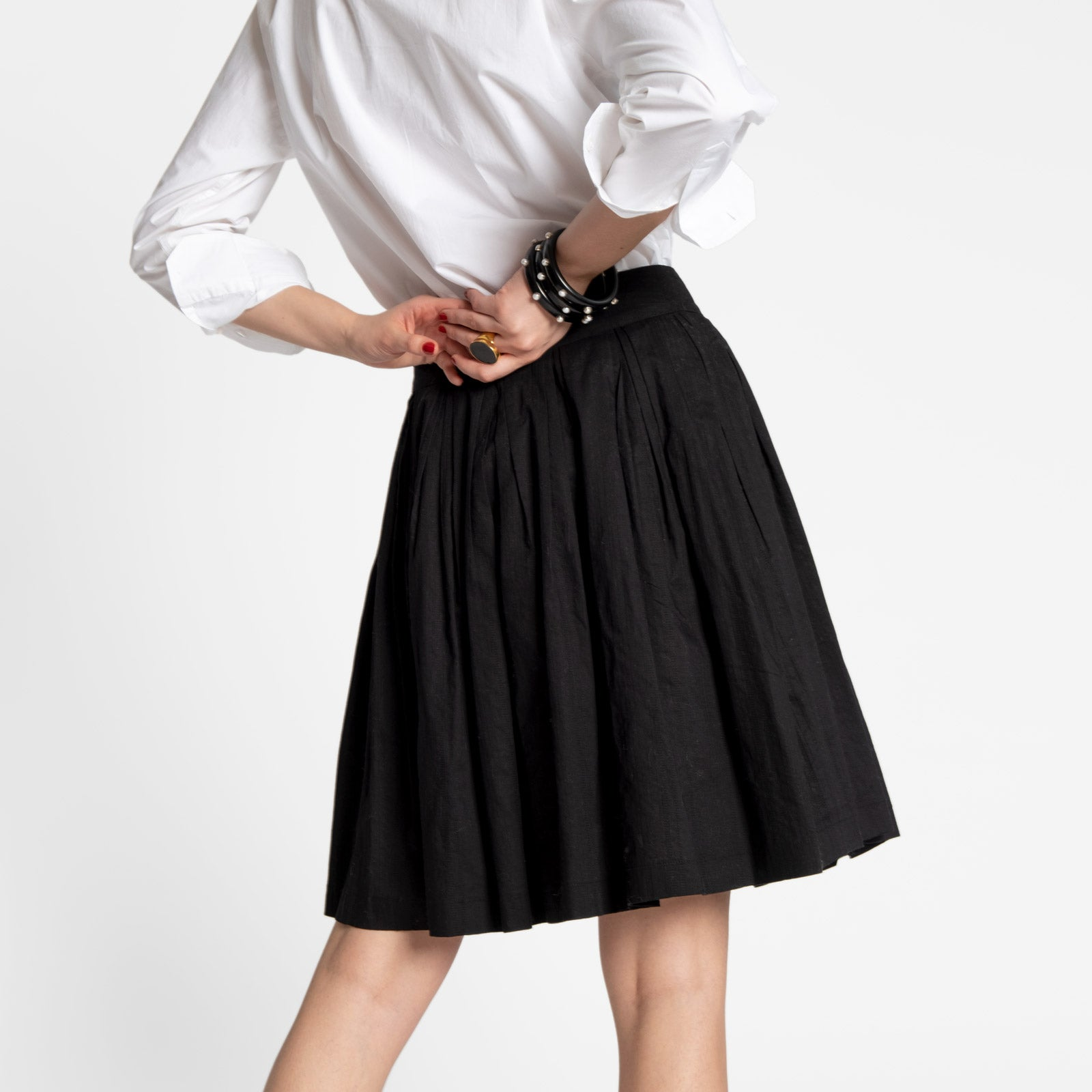 Claire Skirt Black