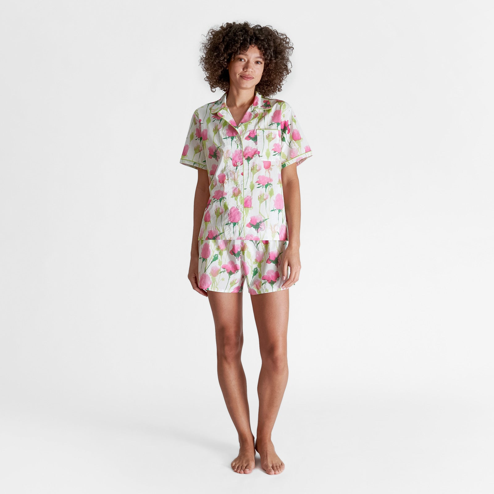 Sleepy Jones x Frances Valentine Corita Pajama Short Set - Frances Valentine