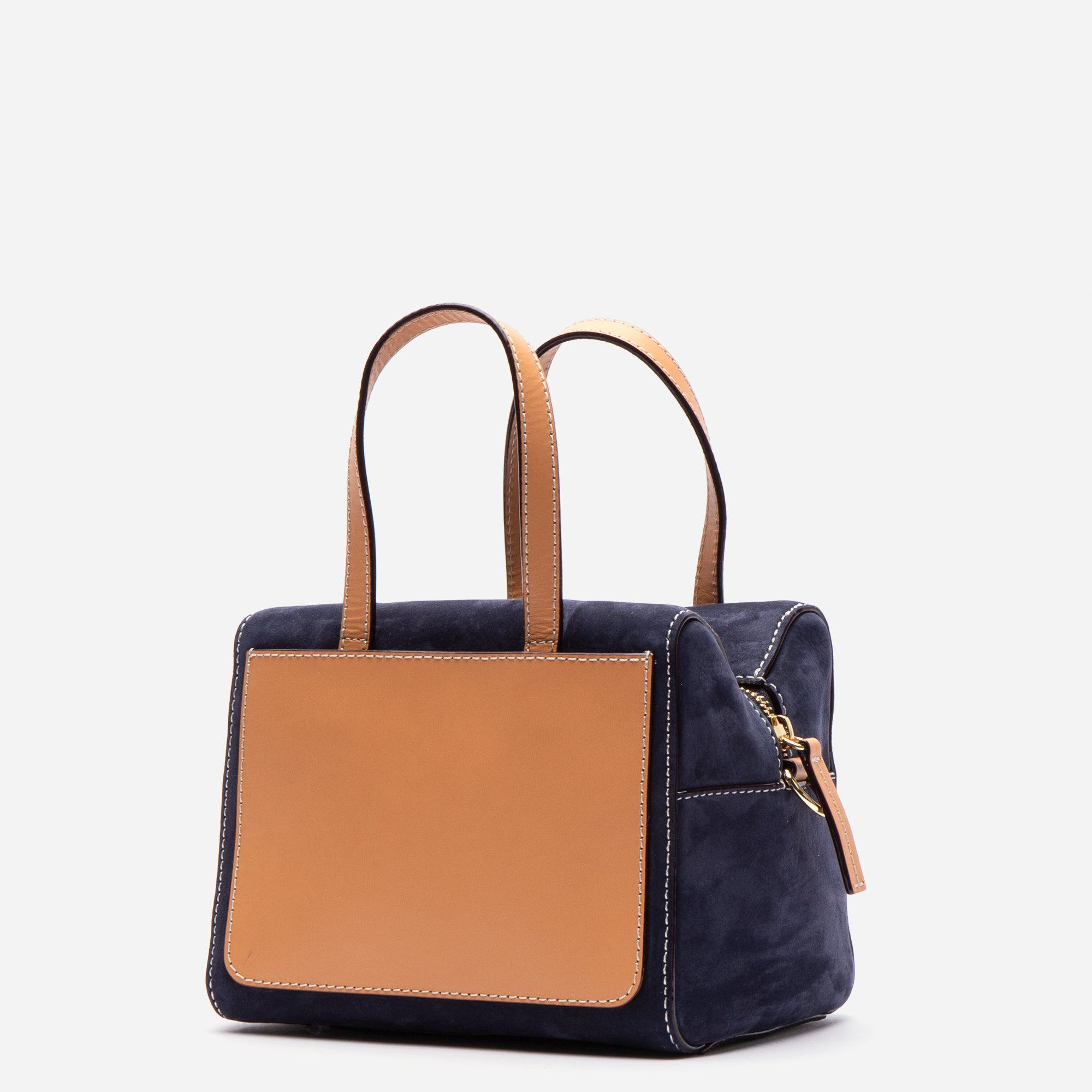 Small Sabrina Tumbled Nubuck Navy