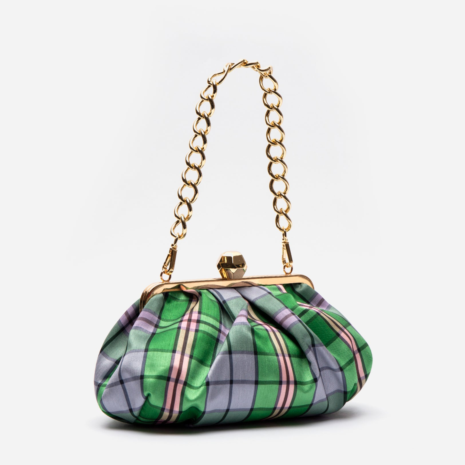 Zelda Frame Bag Nantucket Plaid
