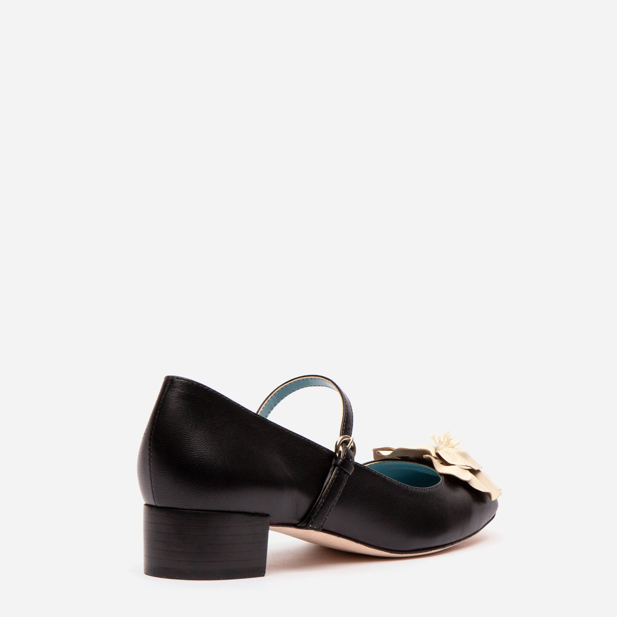 Babe Mary Jane Heels Black Oyster