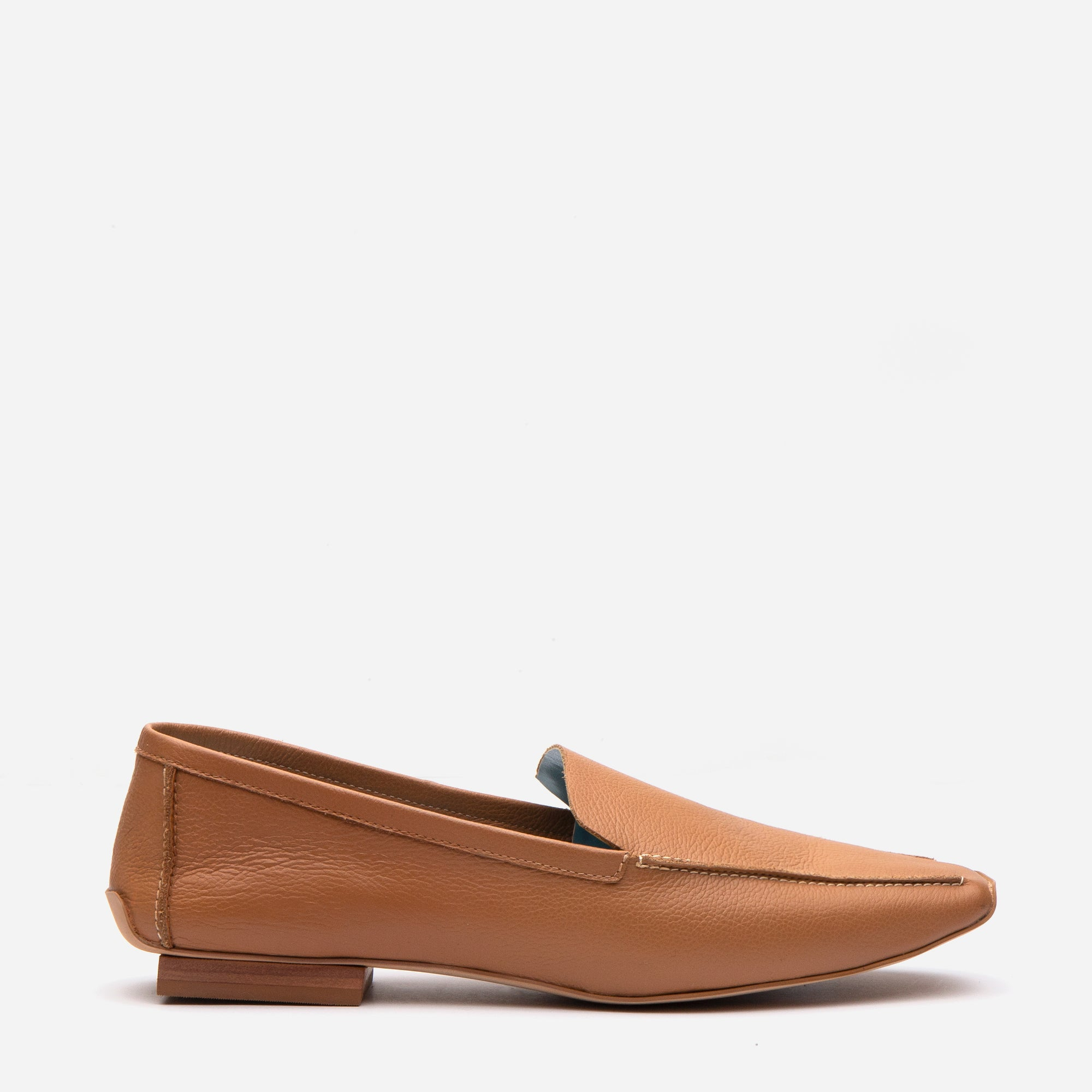 Elyce Loafer Camel Leather - Frances Valentine
