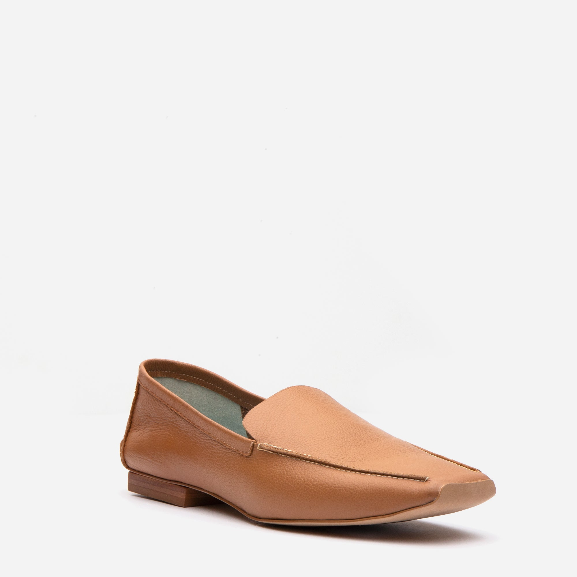 Elyce Loafers Camel Leather