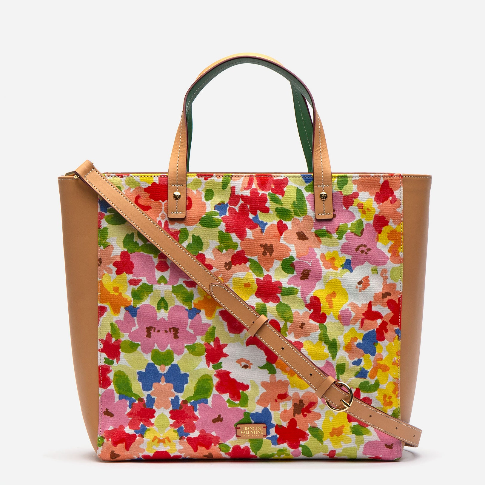 Large Margaret Tote Floral Vachetta