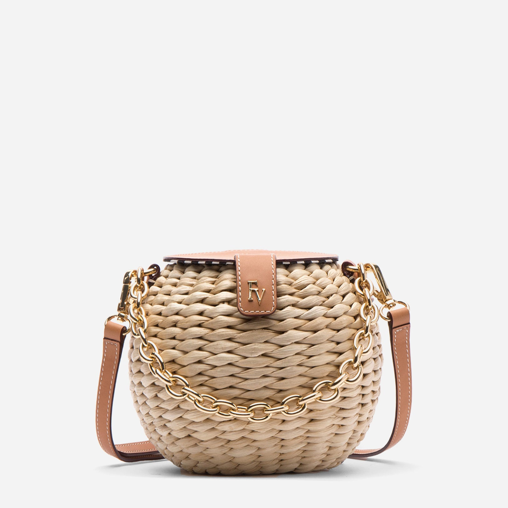 Honeypot Basket Crossbody Natural