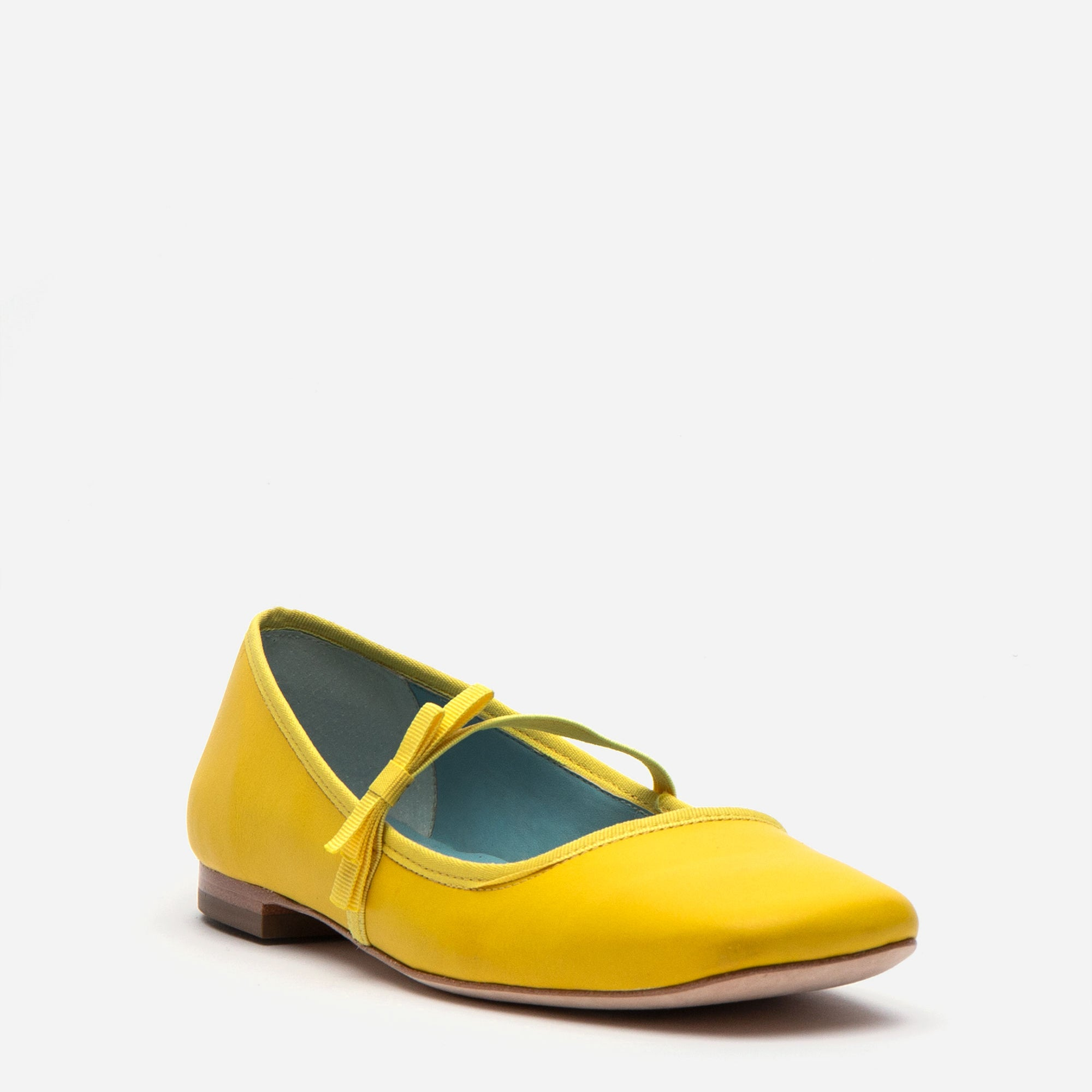 f80d1fd1f Jude Mary Jane Leather Flats Canary Jude Mary Jane Leather Flats Canary