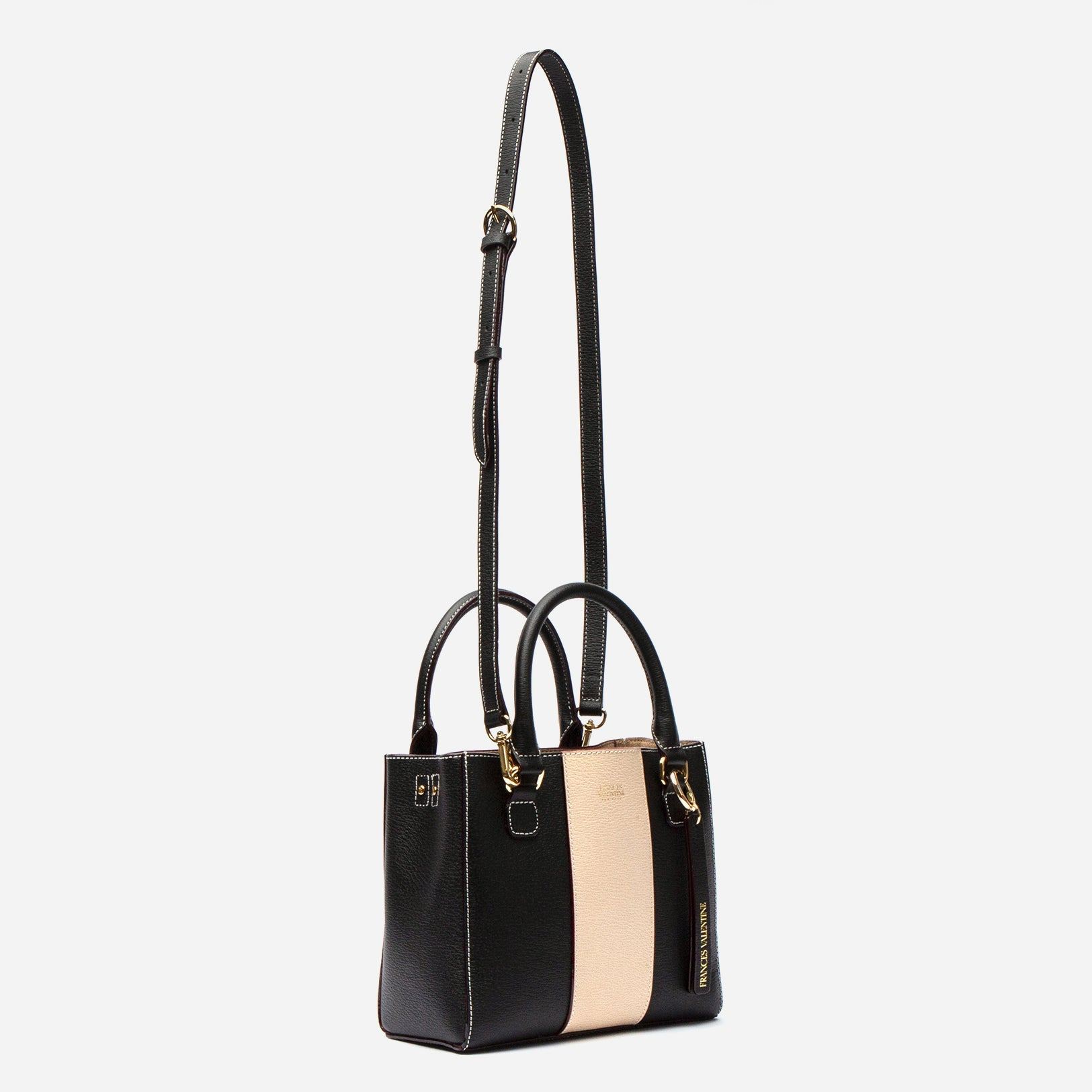 Small Chloe Racing Stripe Black Oyster