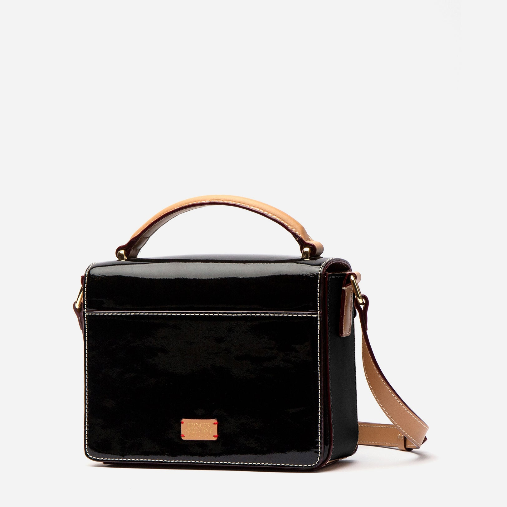 Mini Midge Patent Leather Black