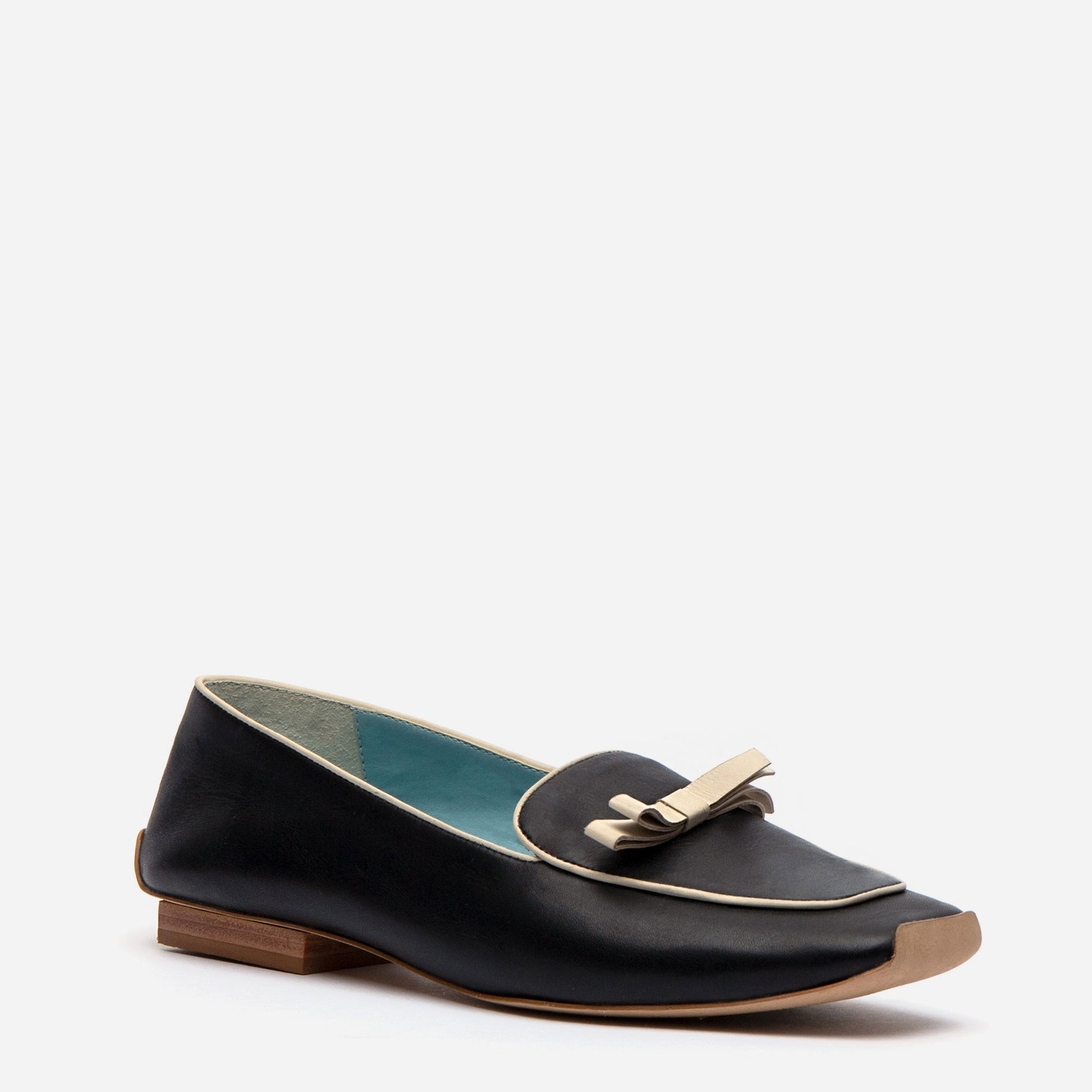 Suzanne Loafers Leather Black Oyster