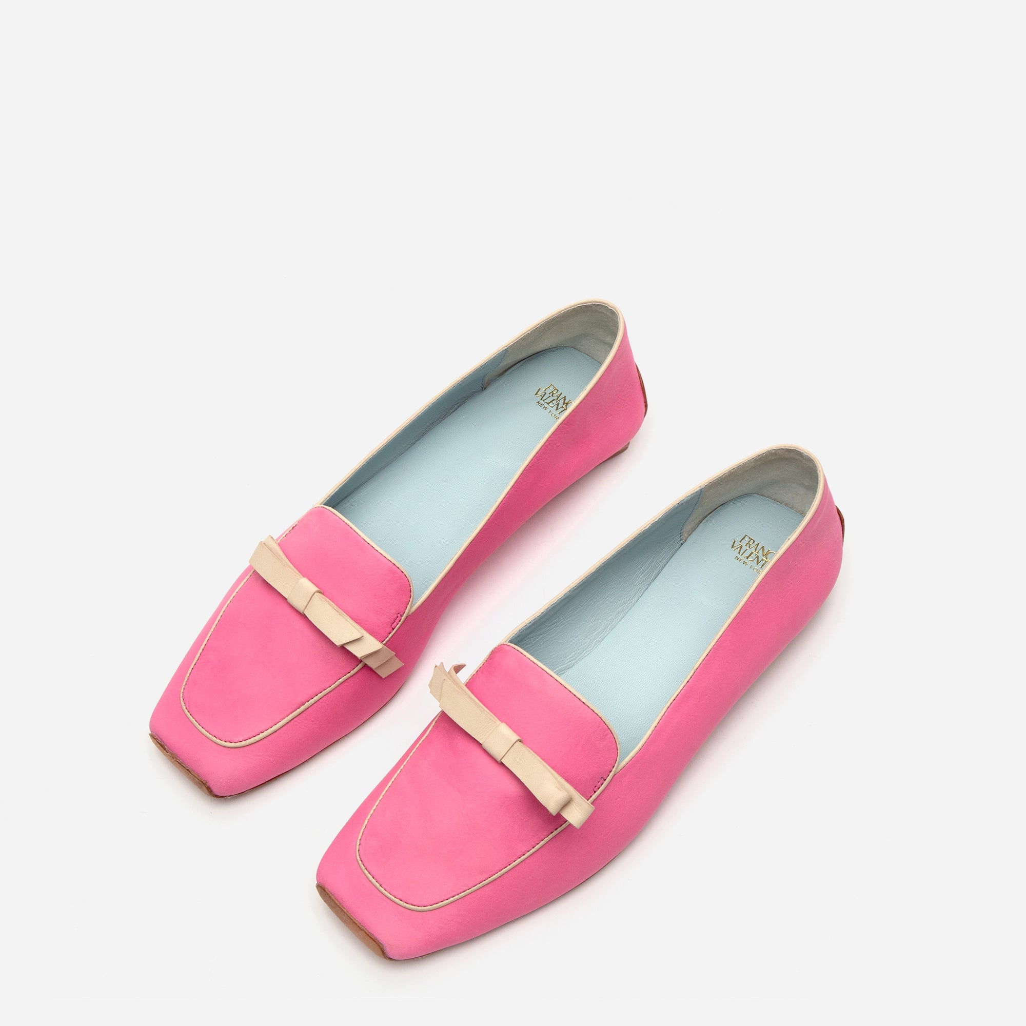 Suzanne Loafers Leather Pink Oyster