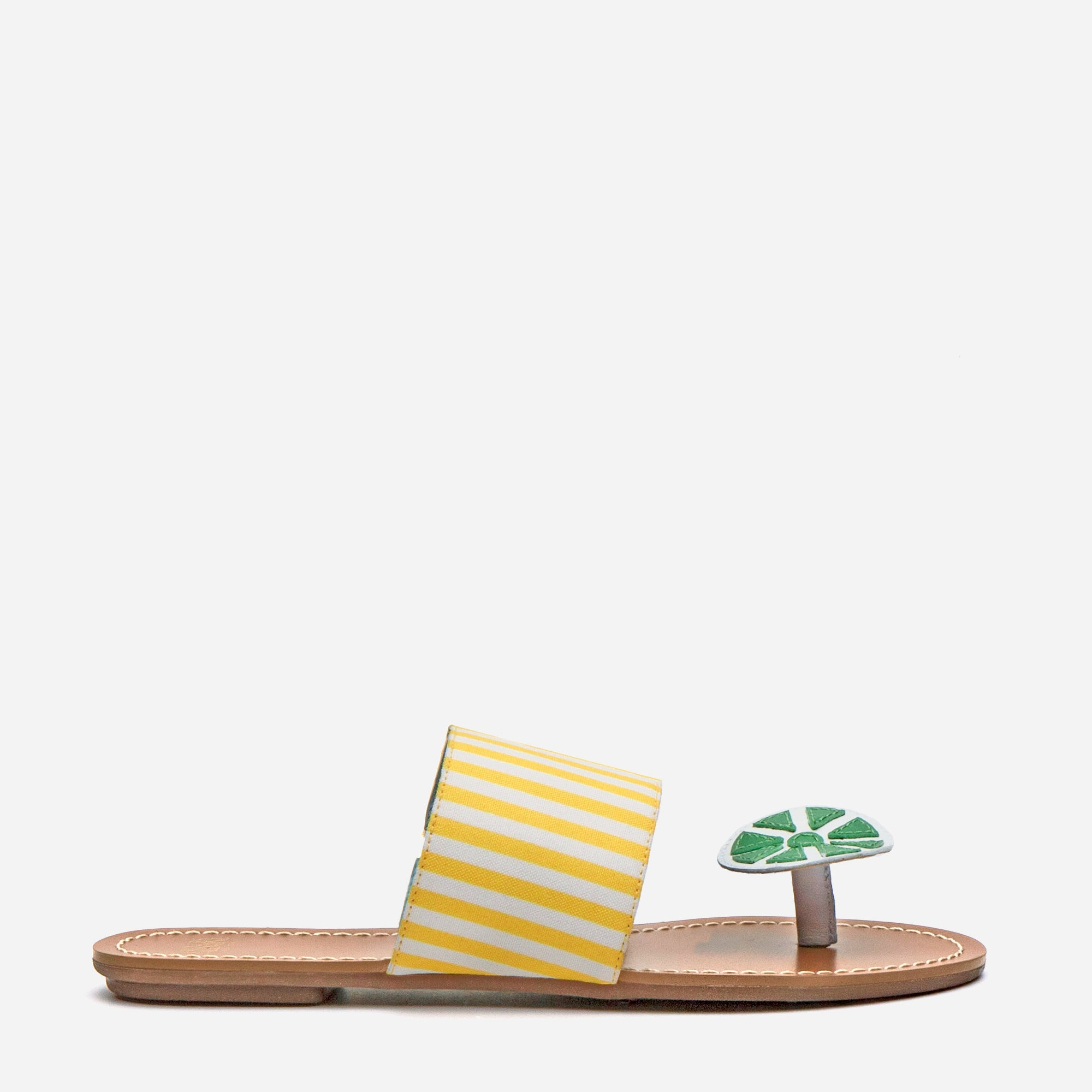 Clementine Citrus Sandal Yellow Grass