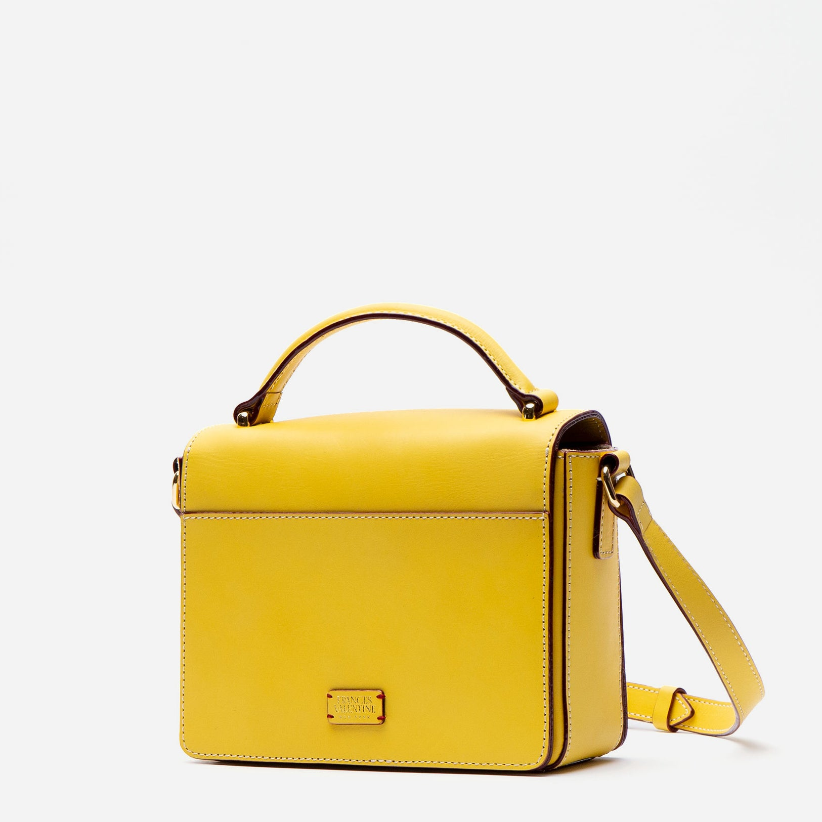 Mini Midge Vachetta Leather Canary