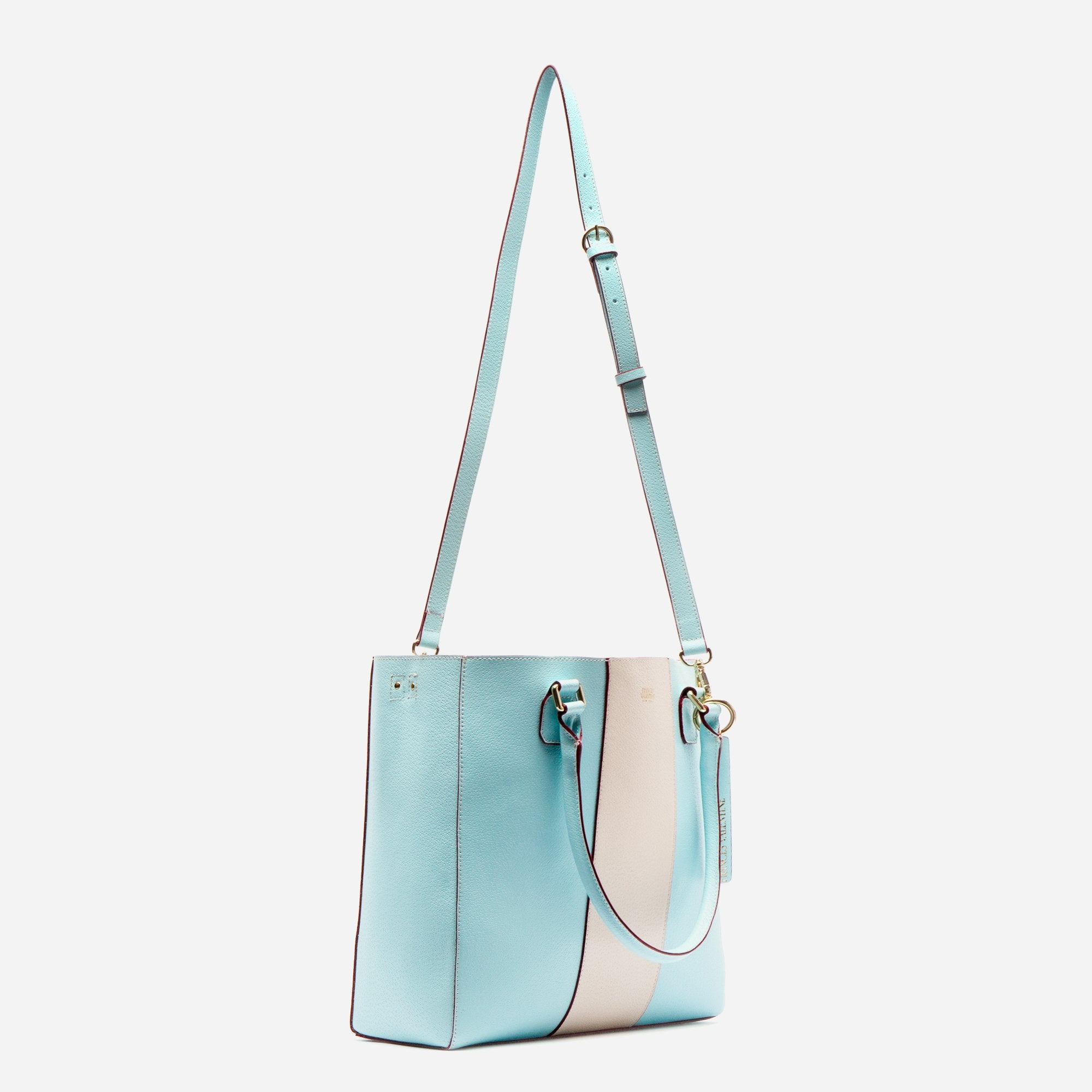 Tall Chloe Racing Stripe Light Blue