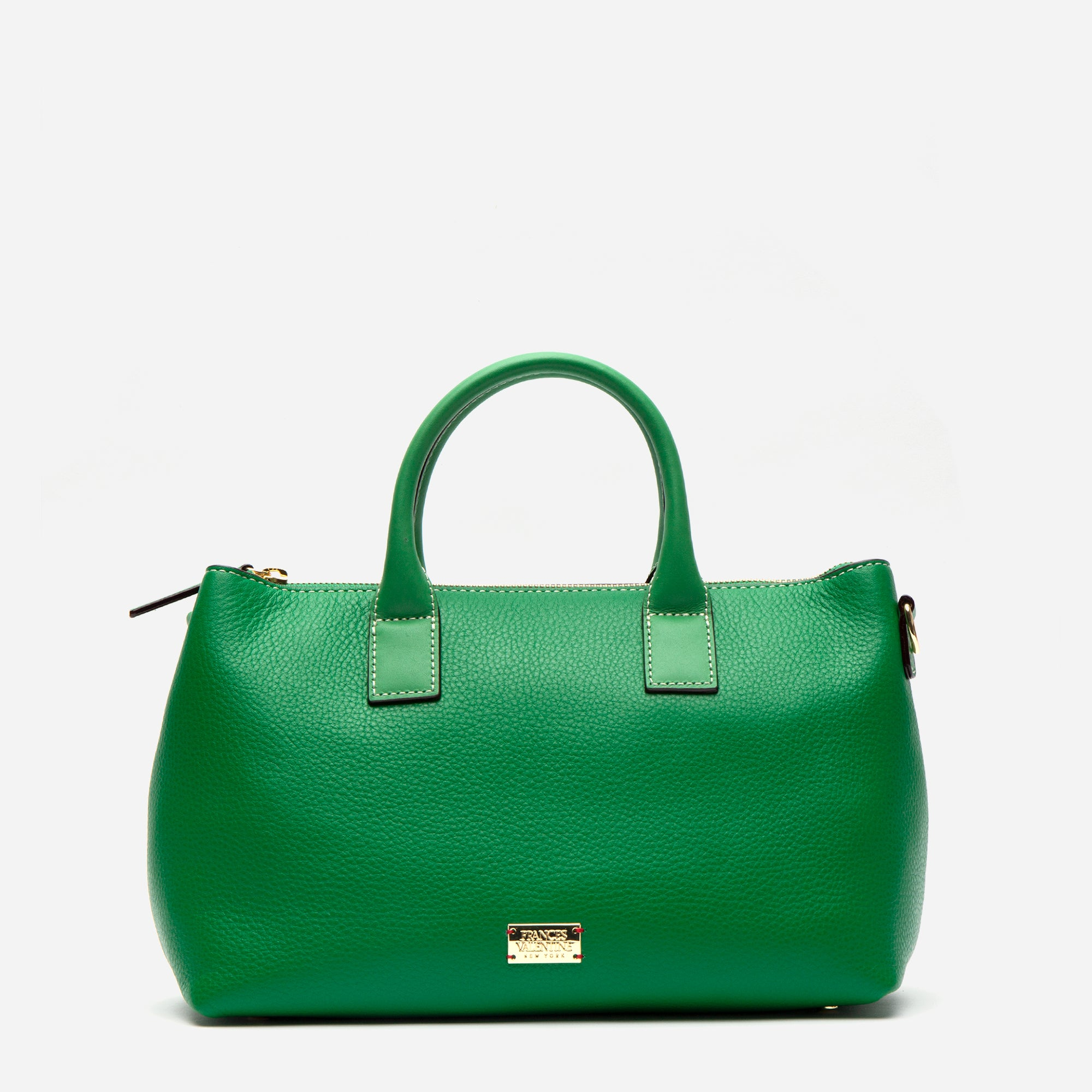 Tilly Tumbled Leather Green