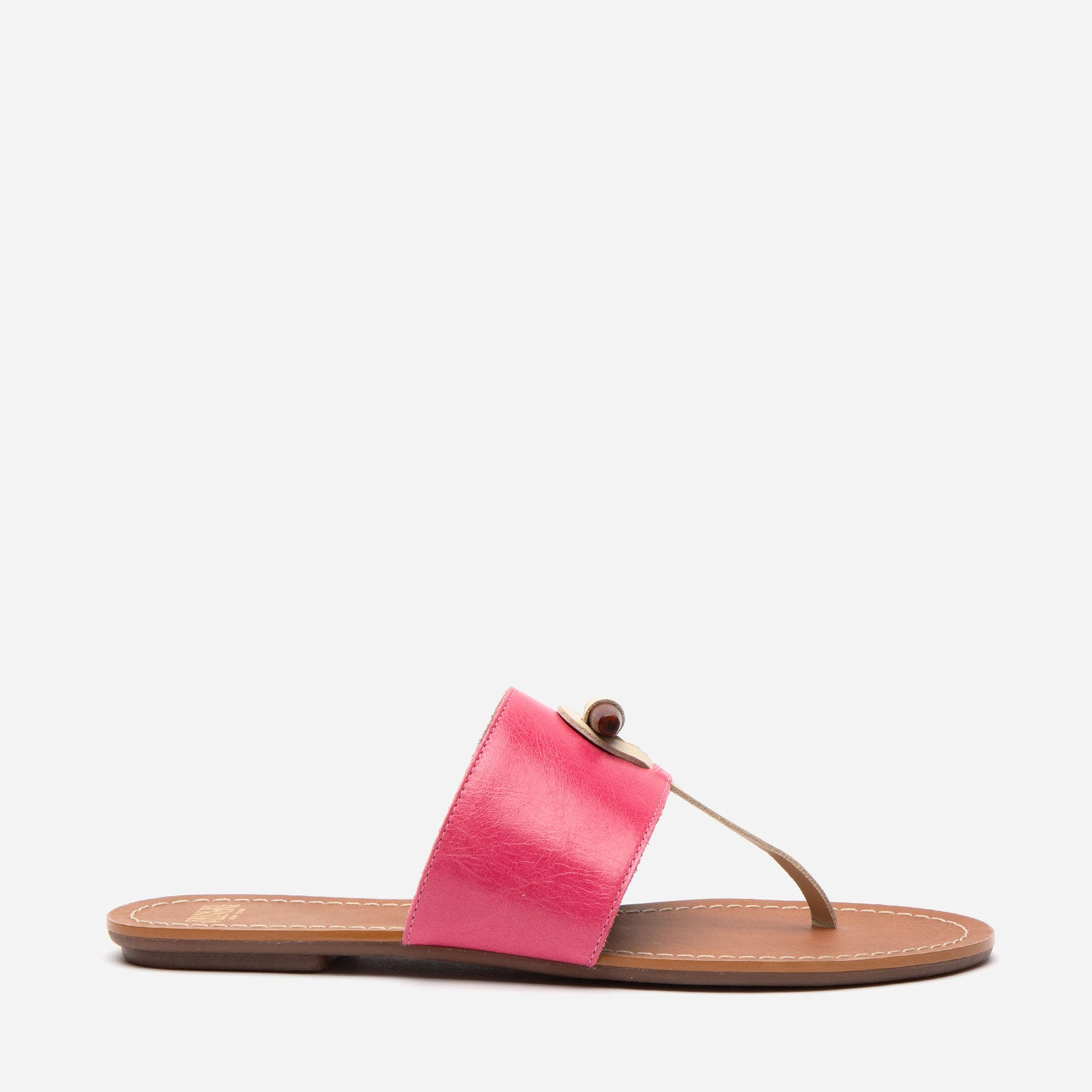 Toggle Slide Naplak Leather Pink Oyster - Frances Valentine