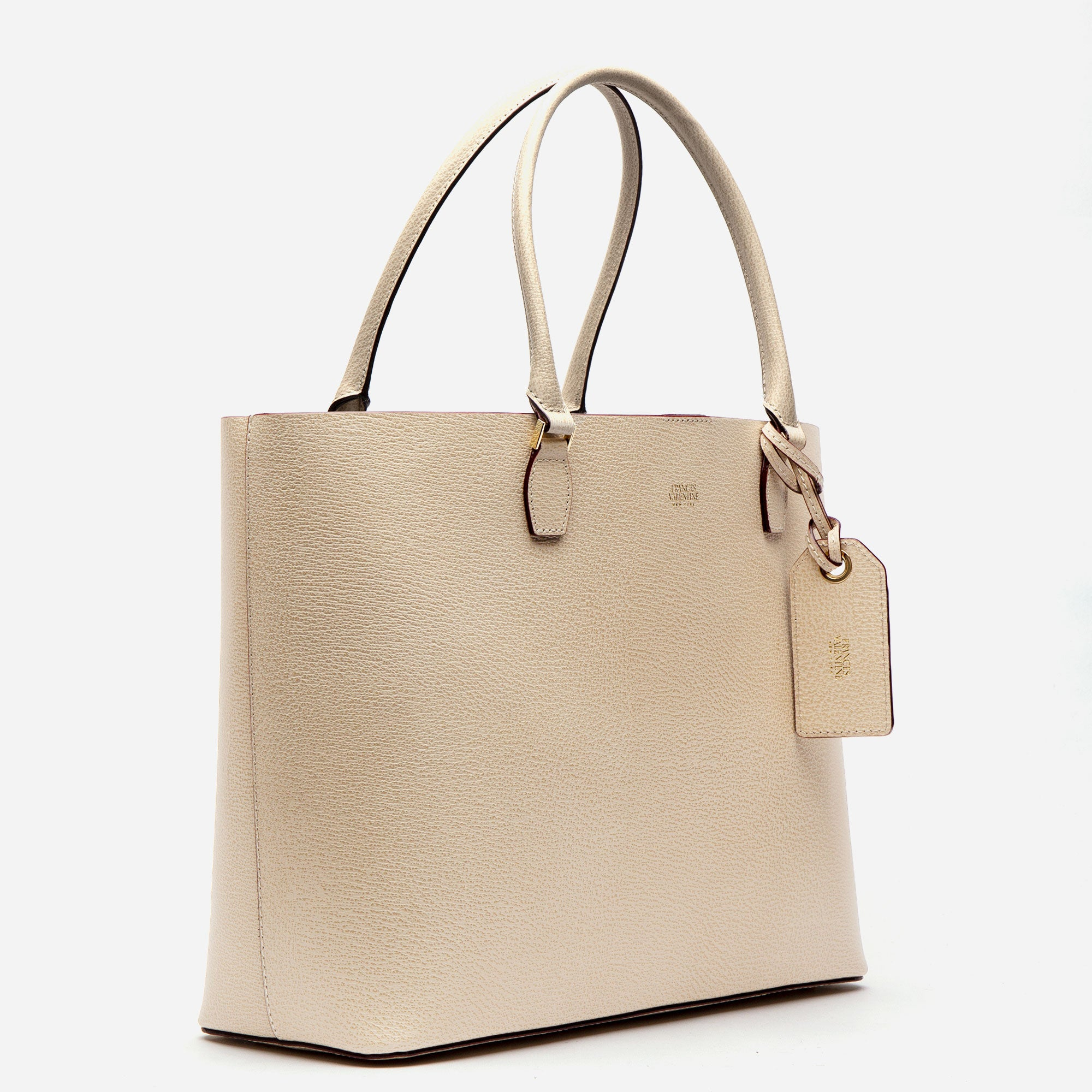 Trixie Tote Boarskin Oyster