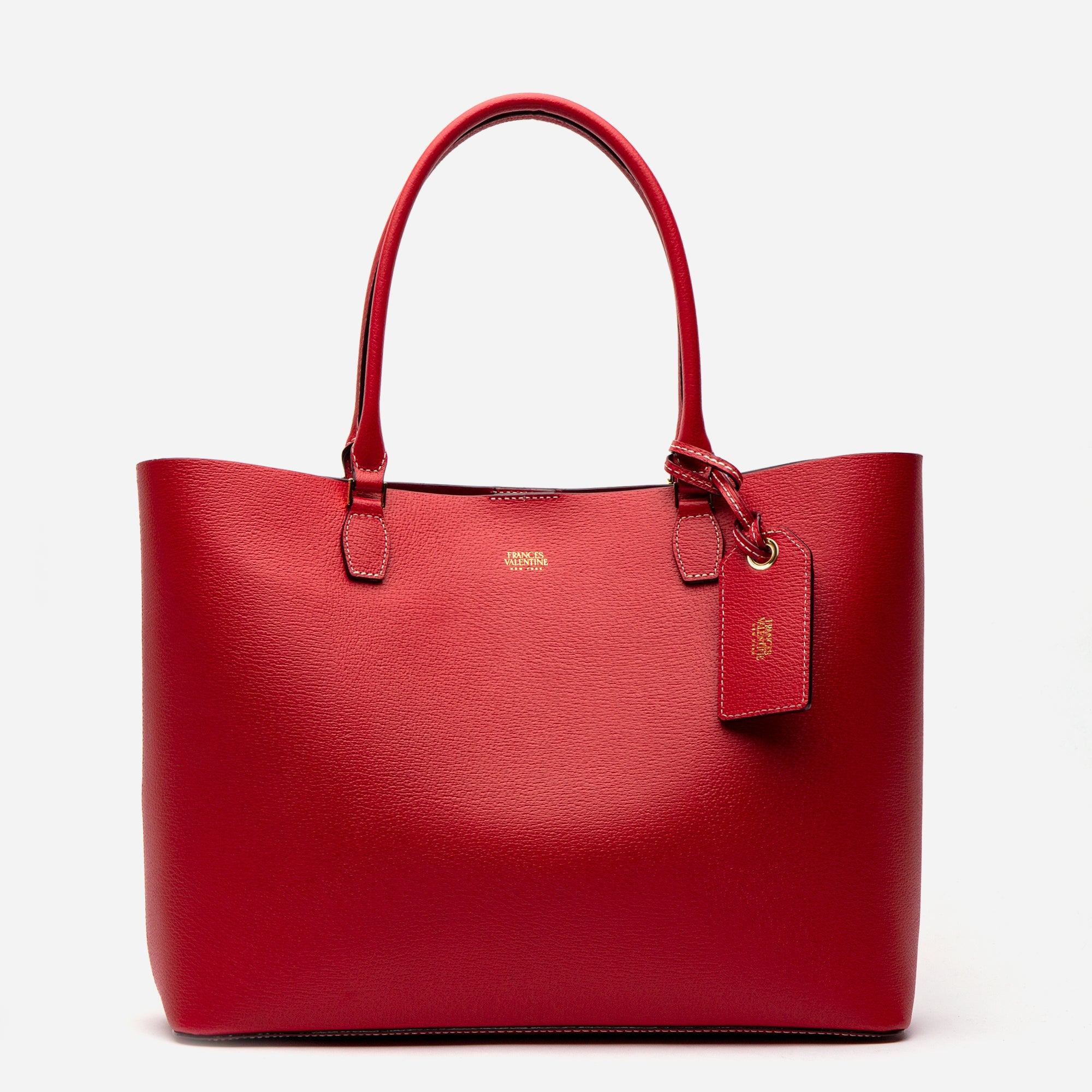 Trixie Tote Boarskin Red