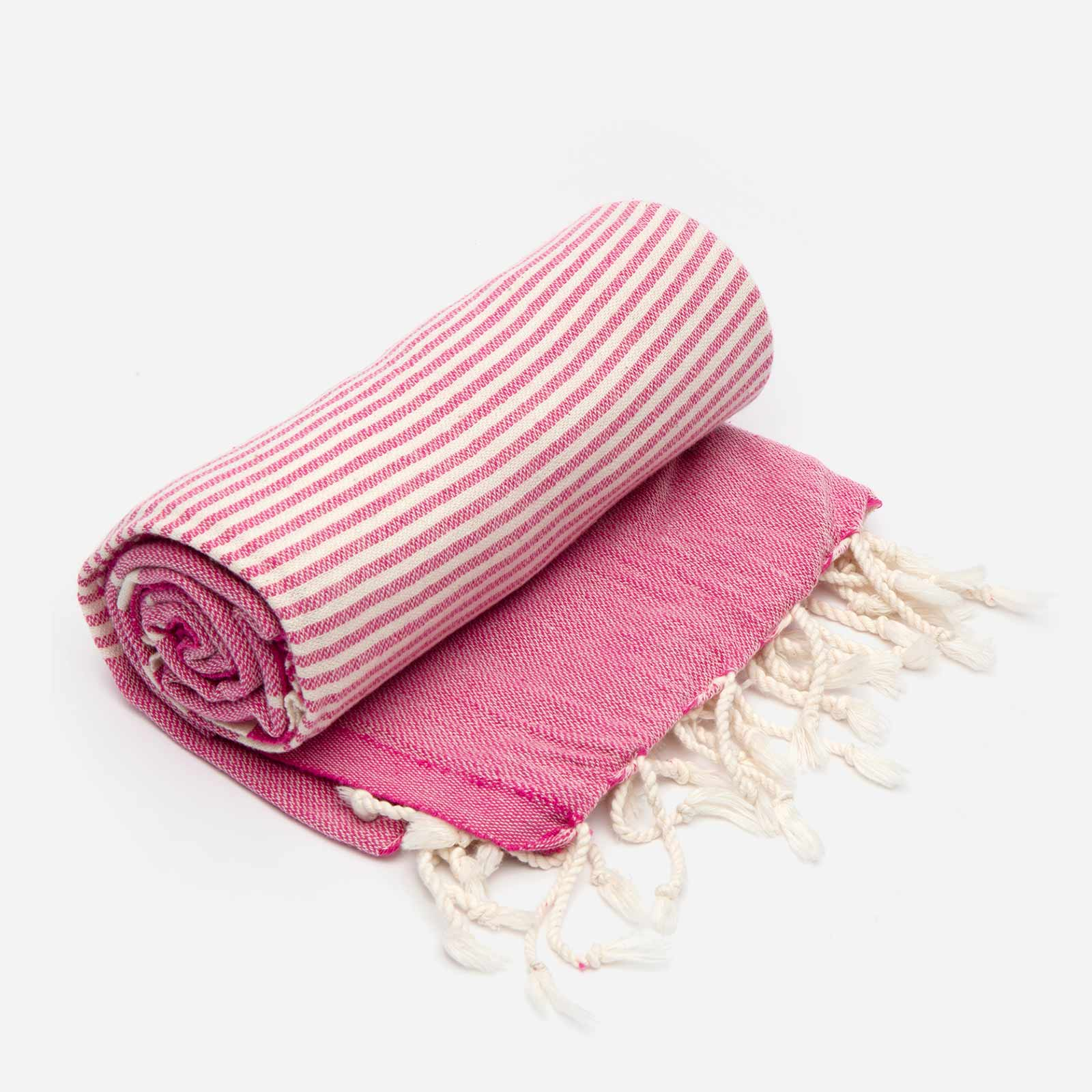 Turkish Beach Towel Pink - Frances Valentine