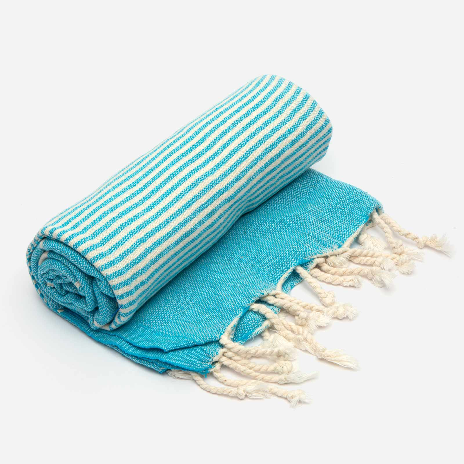 Turkish Beach Towel Turquoise - Frances Valentine