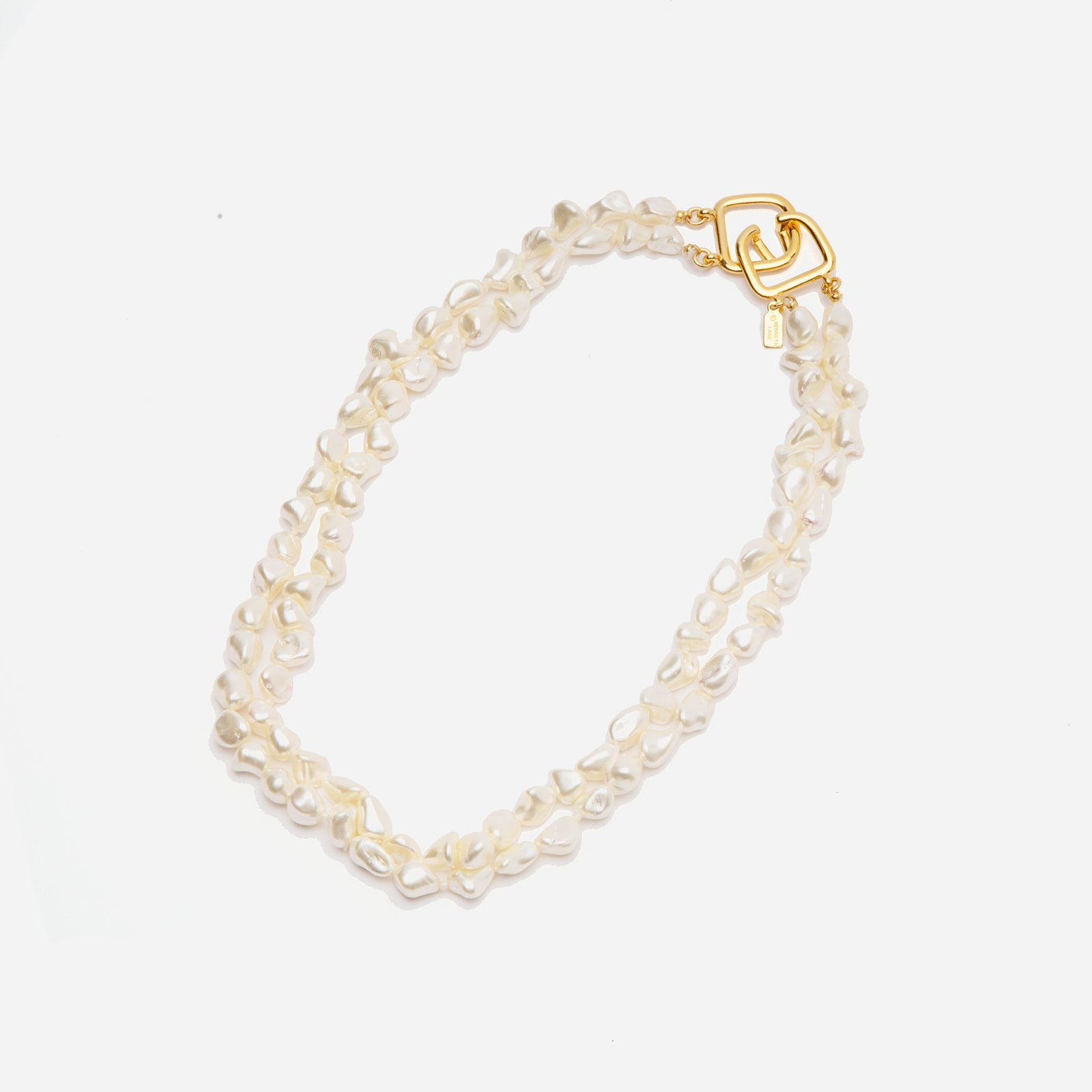 Double Strand Pearl Necklace - Frances Valentine