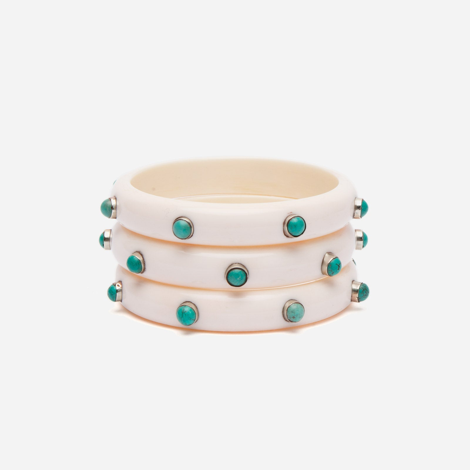 Kerala Bangle Set Oyster