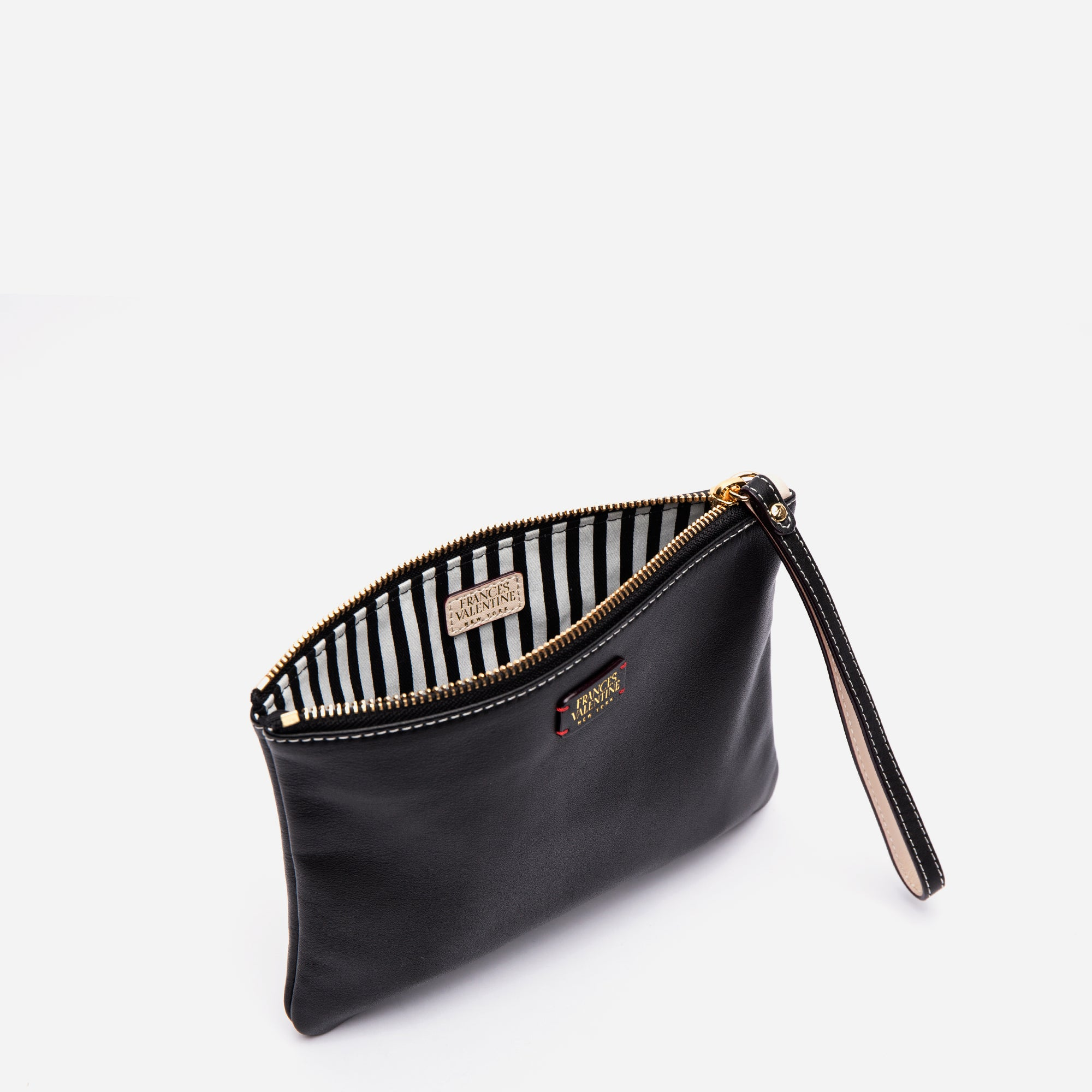 Wristlet Nappa Leather Black