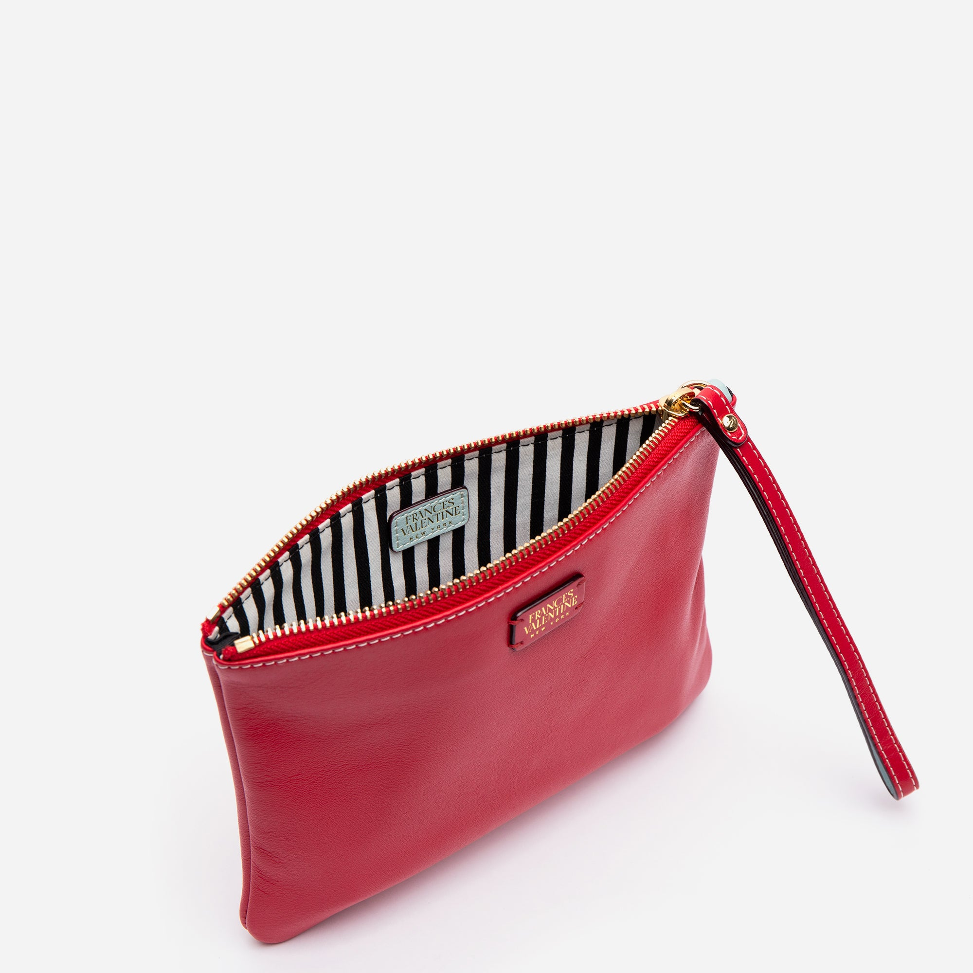 Wristlet Nappa Leather Red
