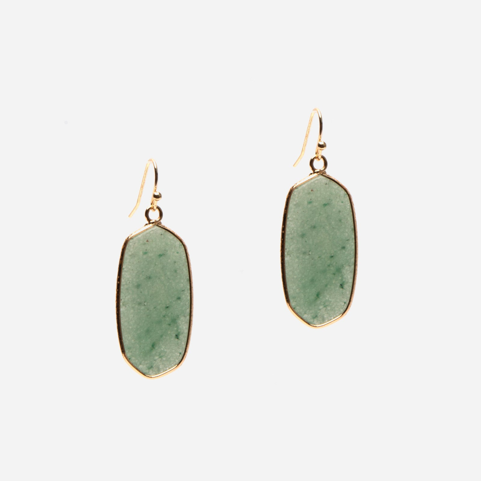 Amazonite Earrings - Frances Valentine